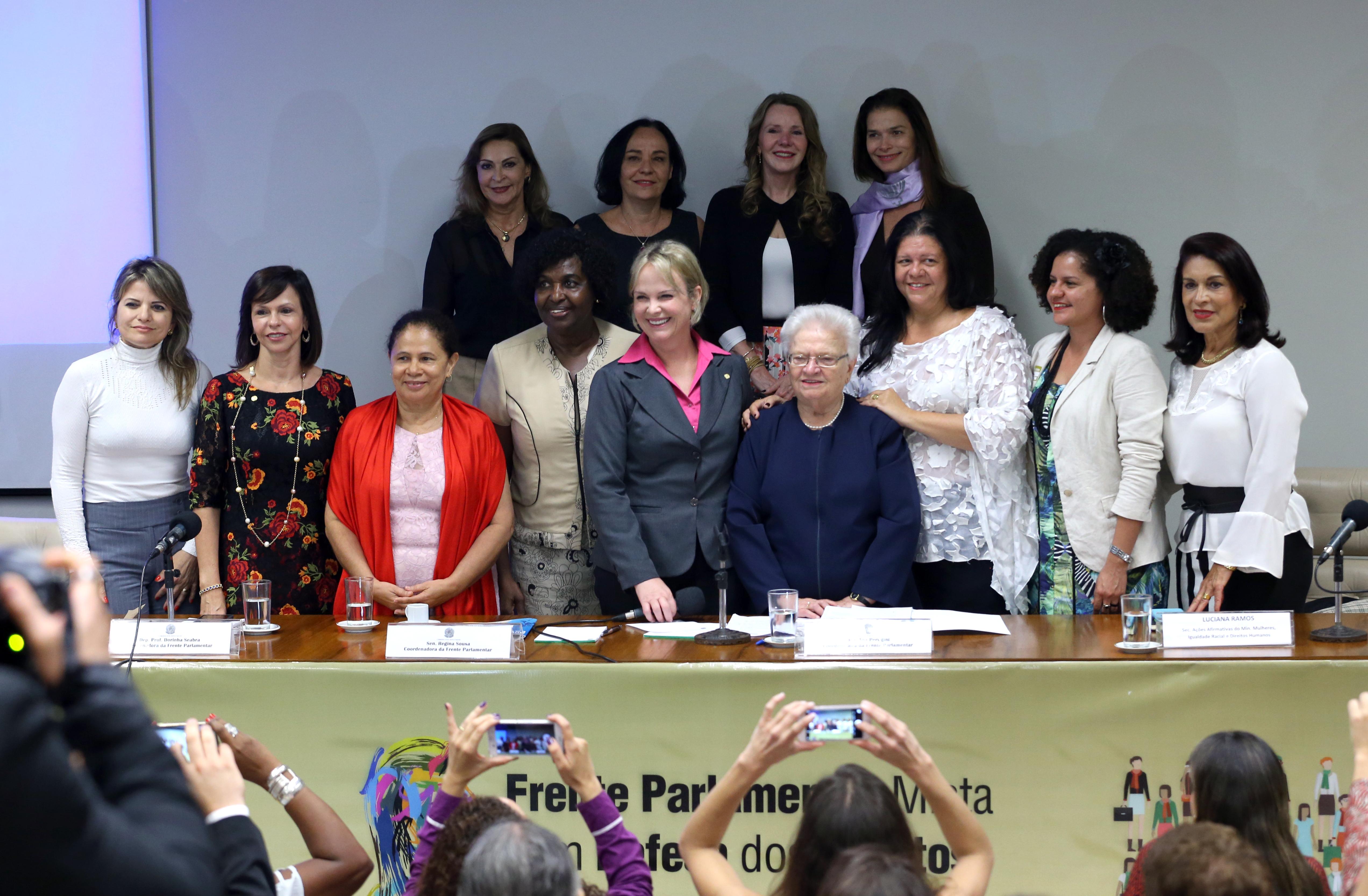 Lançamento da Frente Parlamentar Mista em Defesa dos Direitos Humanos das Mulheres