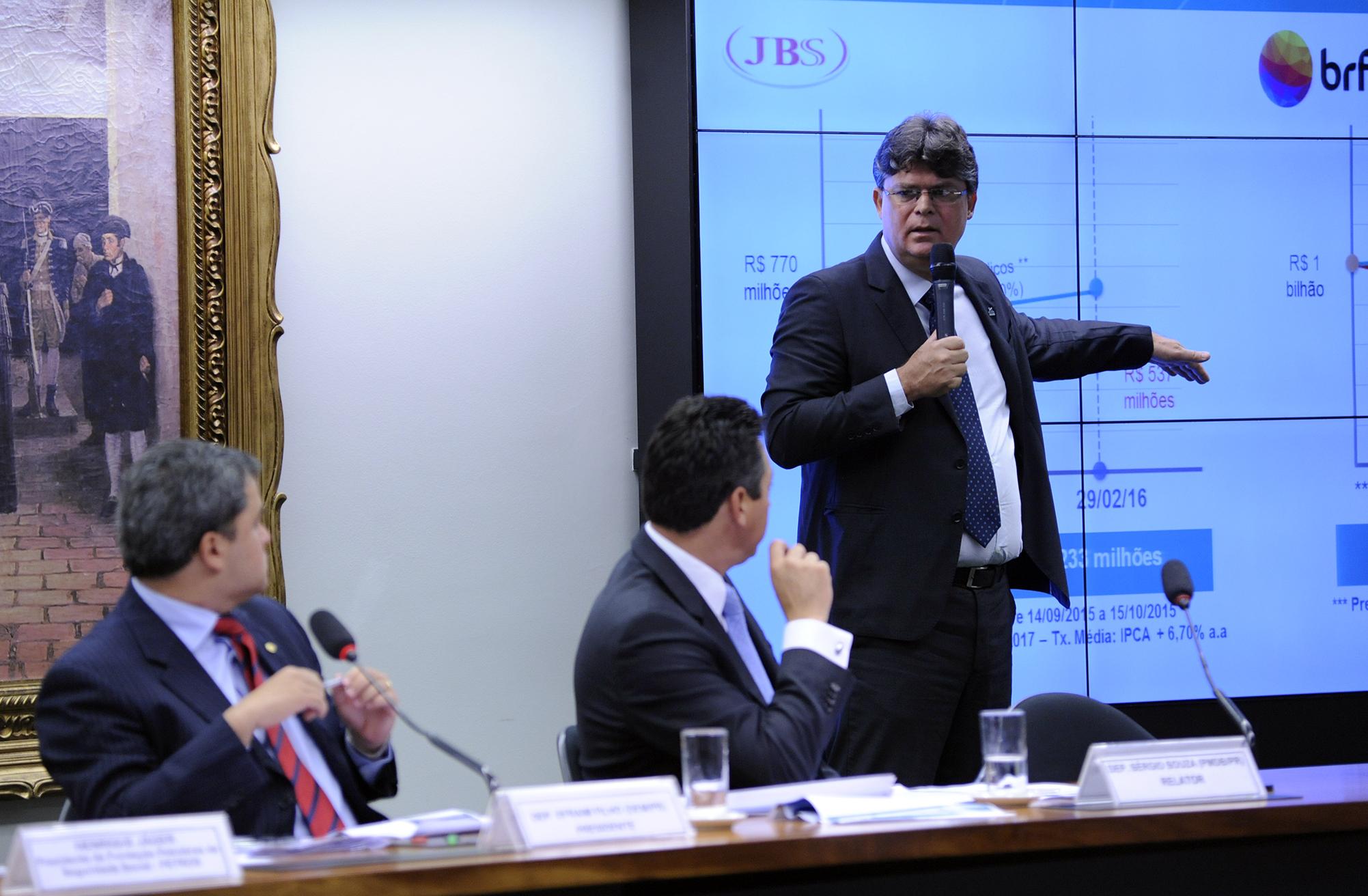 Audiência pública para tomada de depoimento do diretor-presidente da Fundação PETROBRAS de Seguridade Social (PETROS), Henrique Jäger