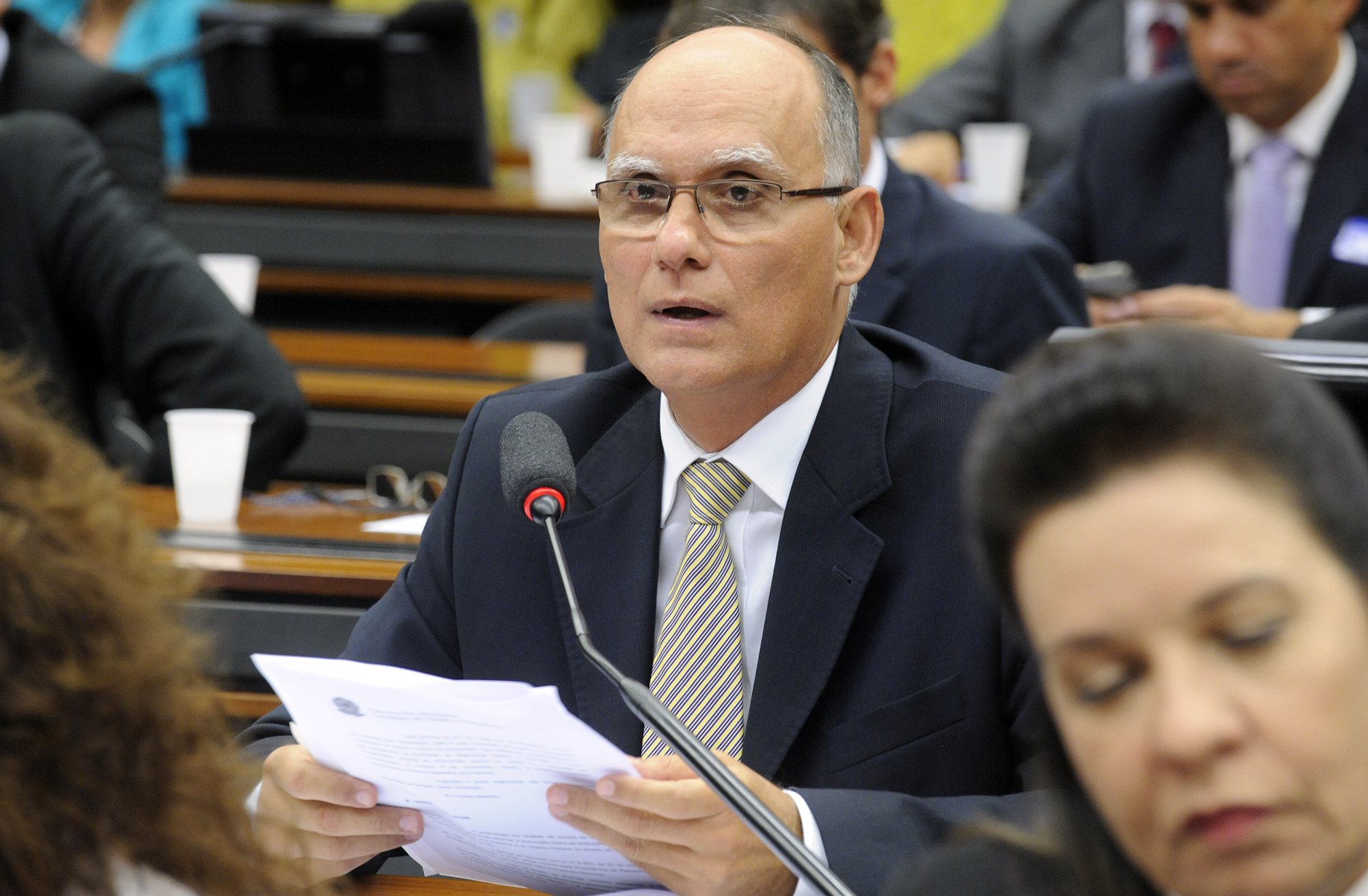 Audiência pública sobre as atribuições das Polícias Militares no Sistema Nacional de Trânsito. Dep. João Paulo Papa (PSDB-SP)