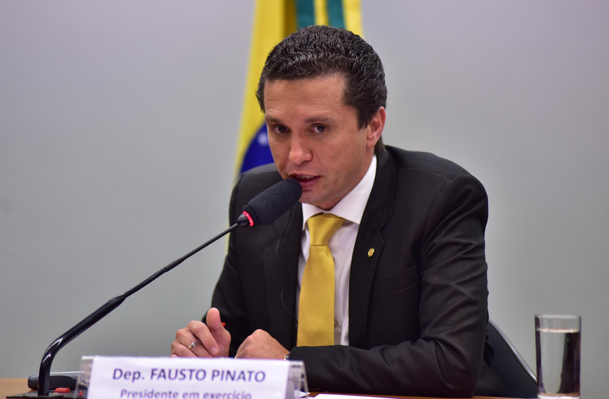 Membros do Conselho de Ética recebem o Embaixador da Suécia no Brasil e membros da Comissão de Constituição do Parlamento da Suécia. Dep. Fausto Pinato (PRB-SP)