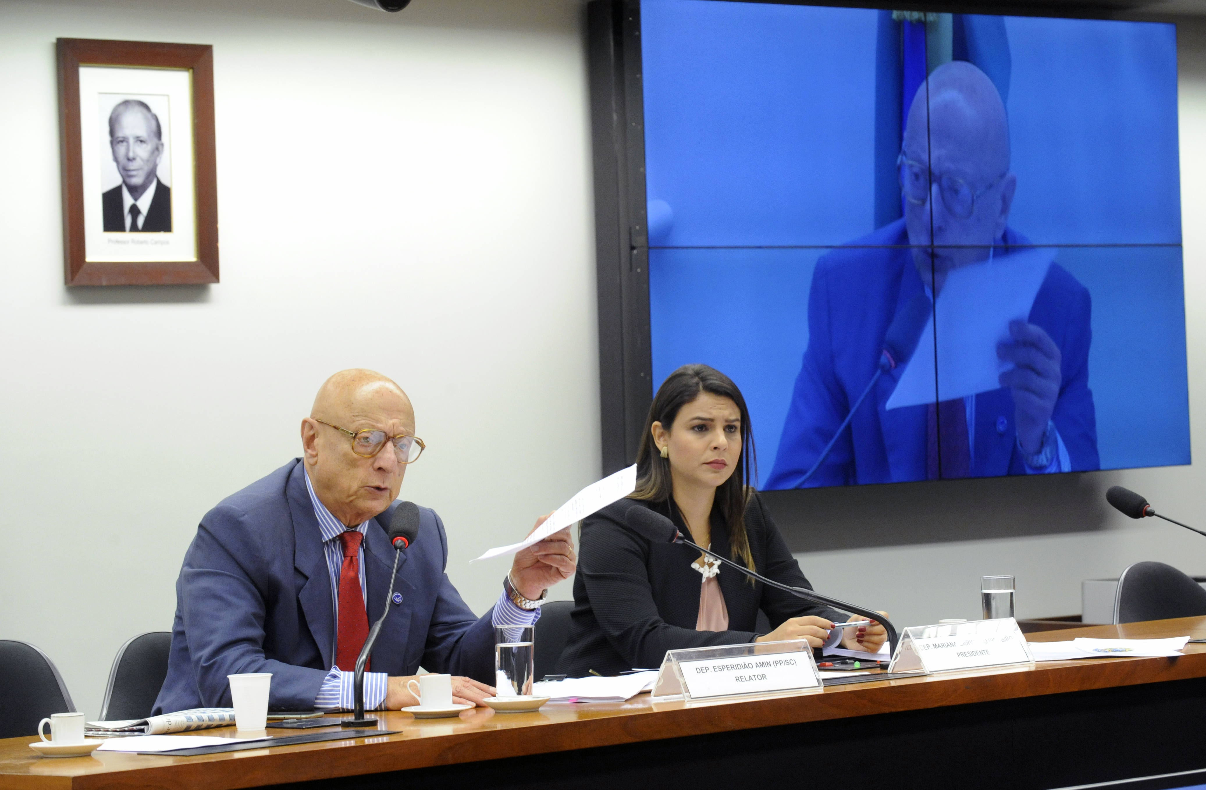 Reunião ordinária para discussão e votação do relatório final