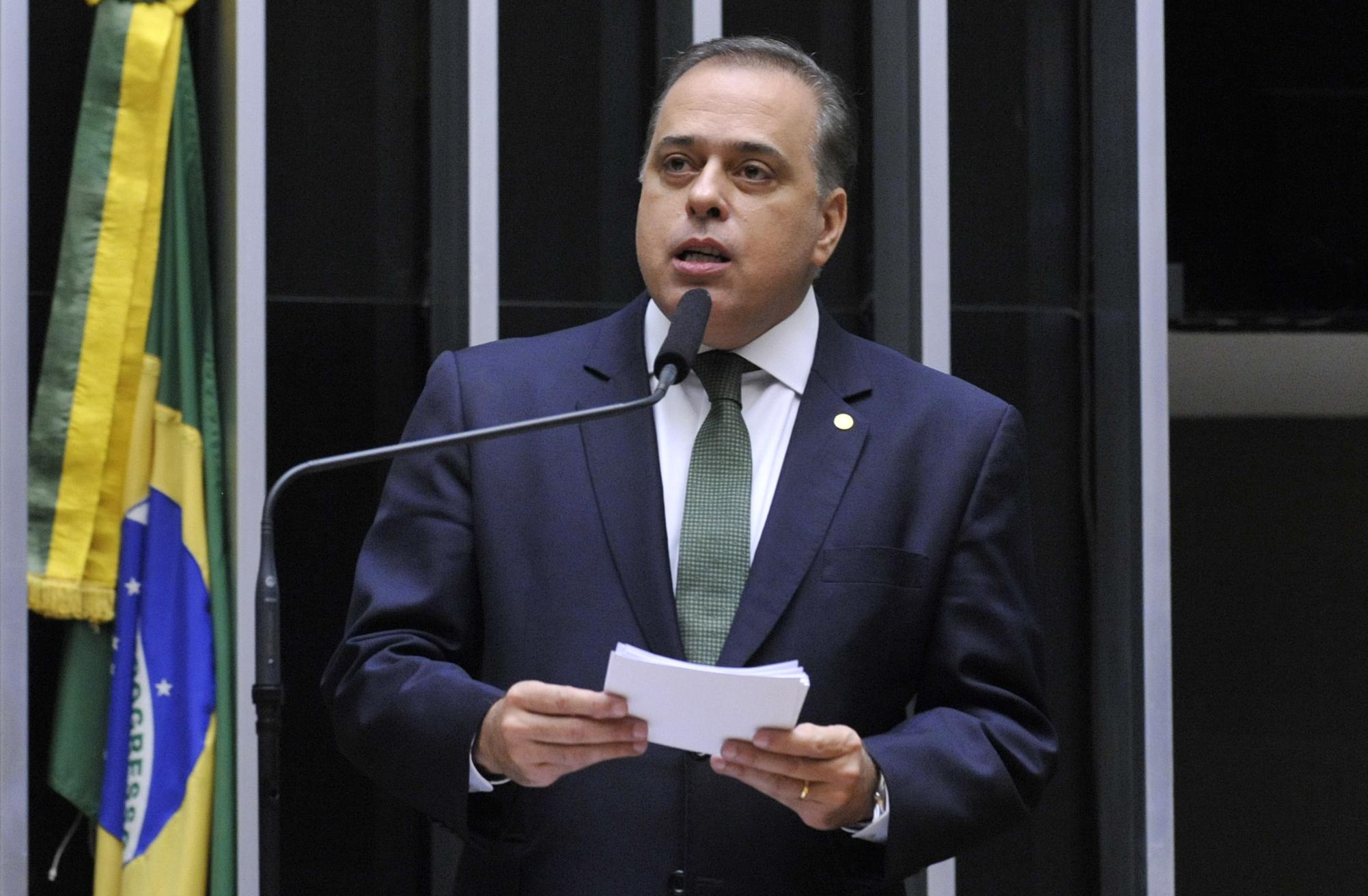 Sessão especial para discussão e votação do parecer do dep. Jovair Arantes (PTB-GO), aprovado em comissão especial, que recomenda a abertura do processo de impeachment da presidente da República - Dep. Paulo Abi-Ackel (PSDB-MG)