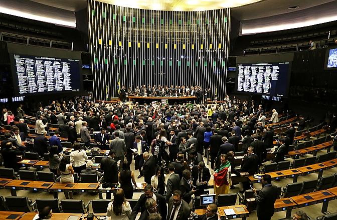 Sessão Especial do Impeachment - Votação 17/04