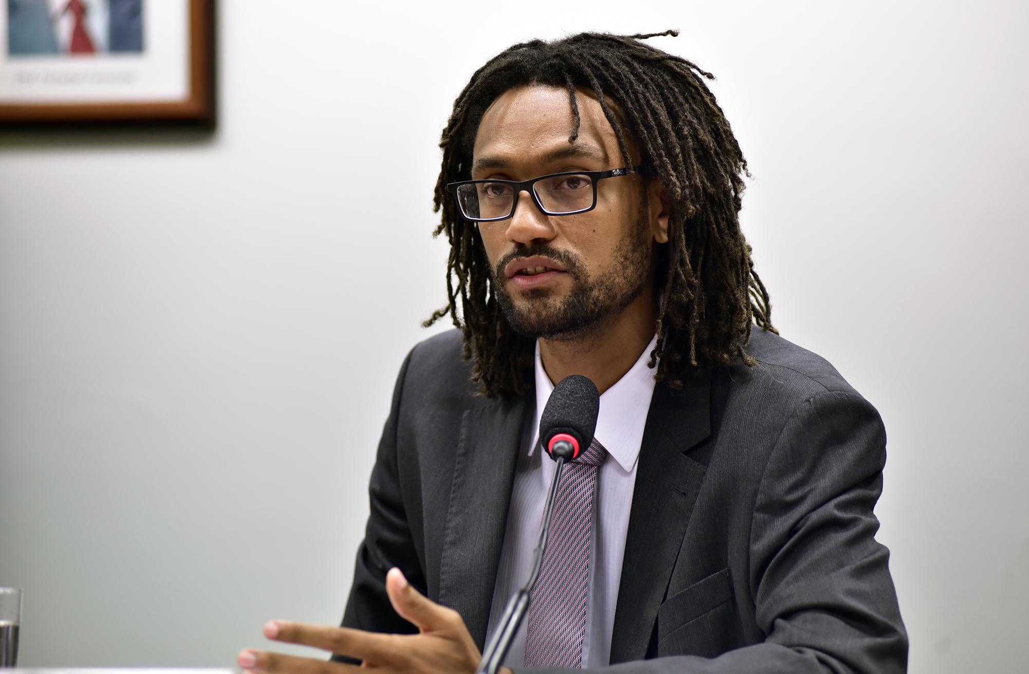 Audiência Pública e Reunião Ordinária. Secretário de Assuntos Legislativos do Ministério da Justiça, Gabriel Sampaio
