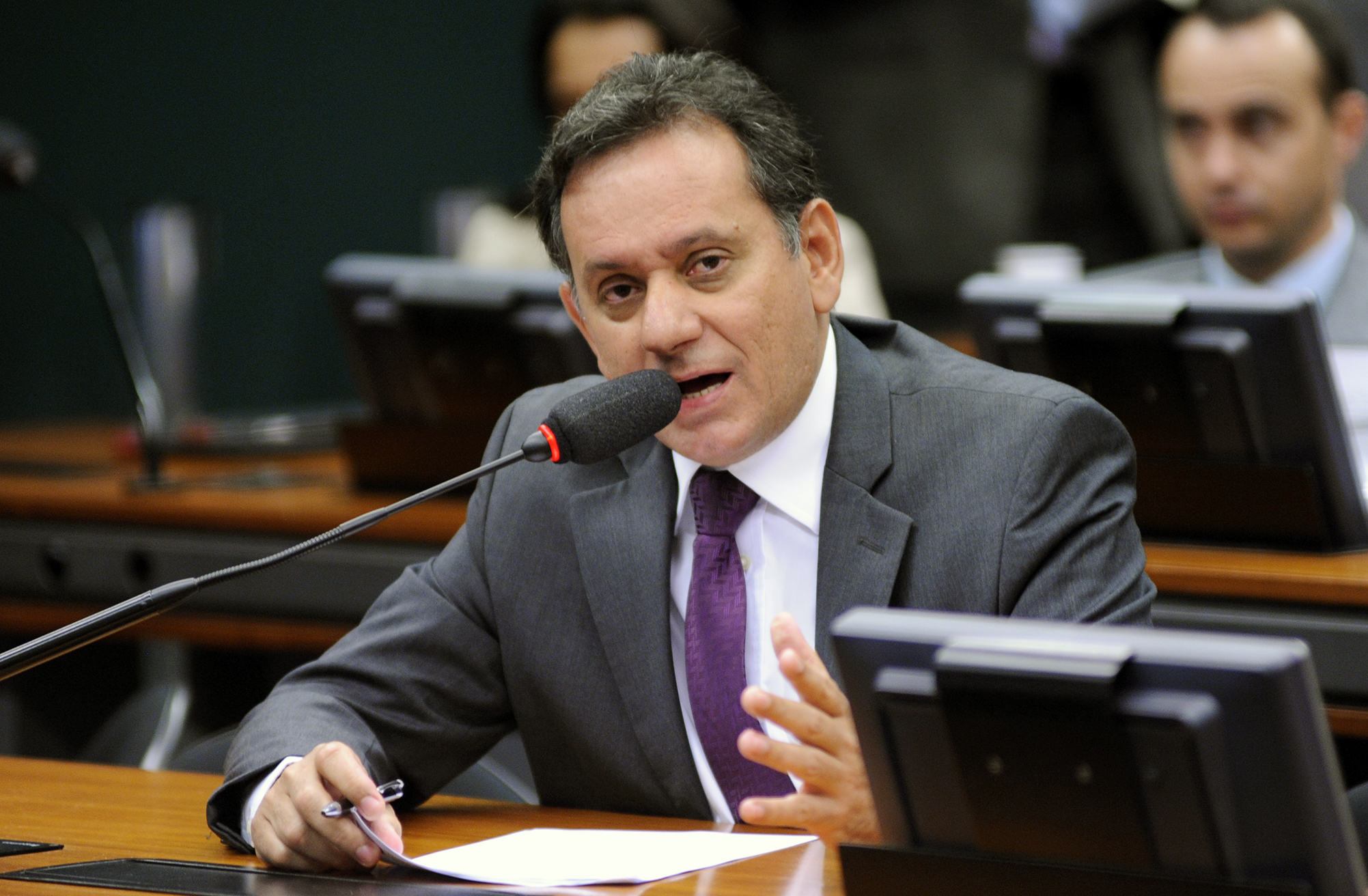 Audiência Pública para tomada de depoimento do advogado Ubiratan de Souza. Dep. Nilson Leitão (PSDB - MT)