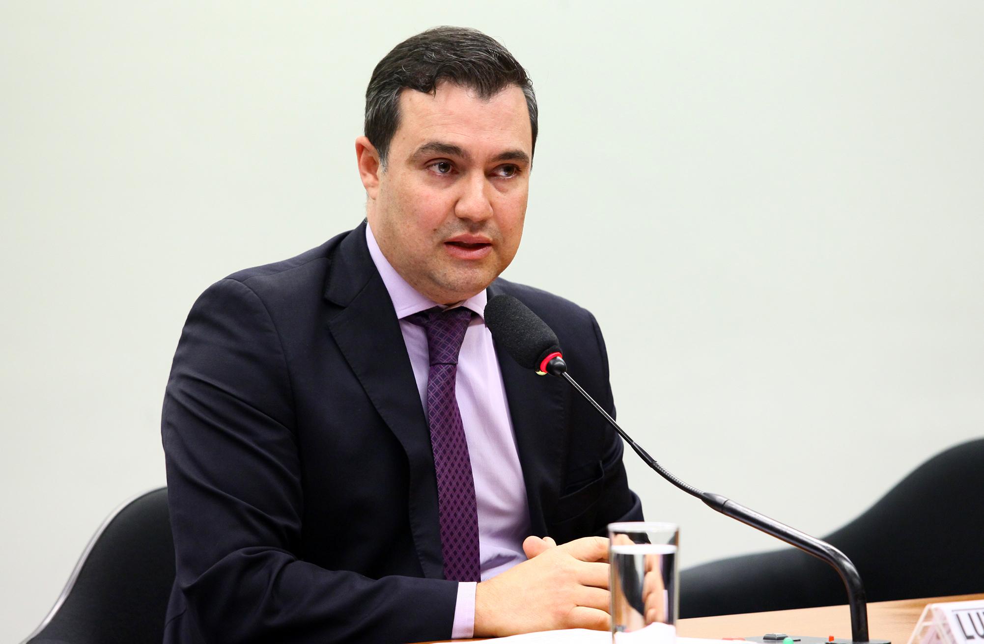 Reunião de instalação da comissão e eleição do Presidente e dos Vice-Presidente. Presidente eleito, dep. Luiz Lauro Filho (PSB-SP)