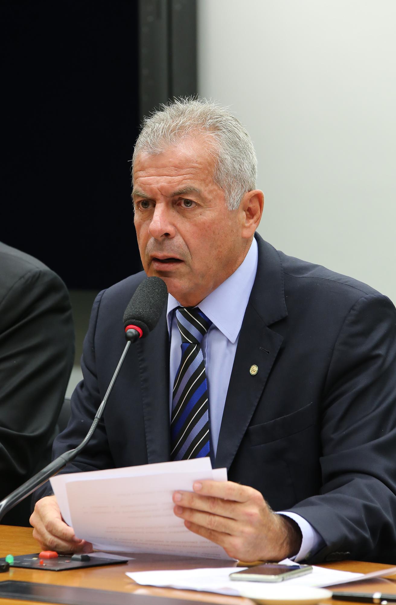 Reunião de instalação da comissão e eleição do Presidente e dos Vice-Presidente. Presidente eleito, dep. Paulo Feijó (PR-RJ)