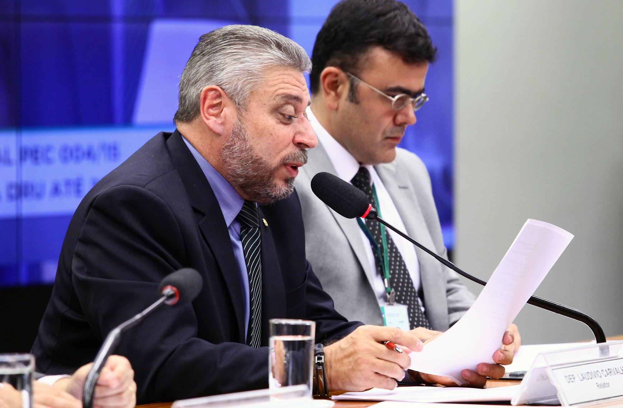 Reunião Deliberativa. Dep. Laudivio Carvalho (SD - MG)