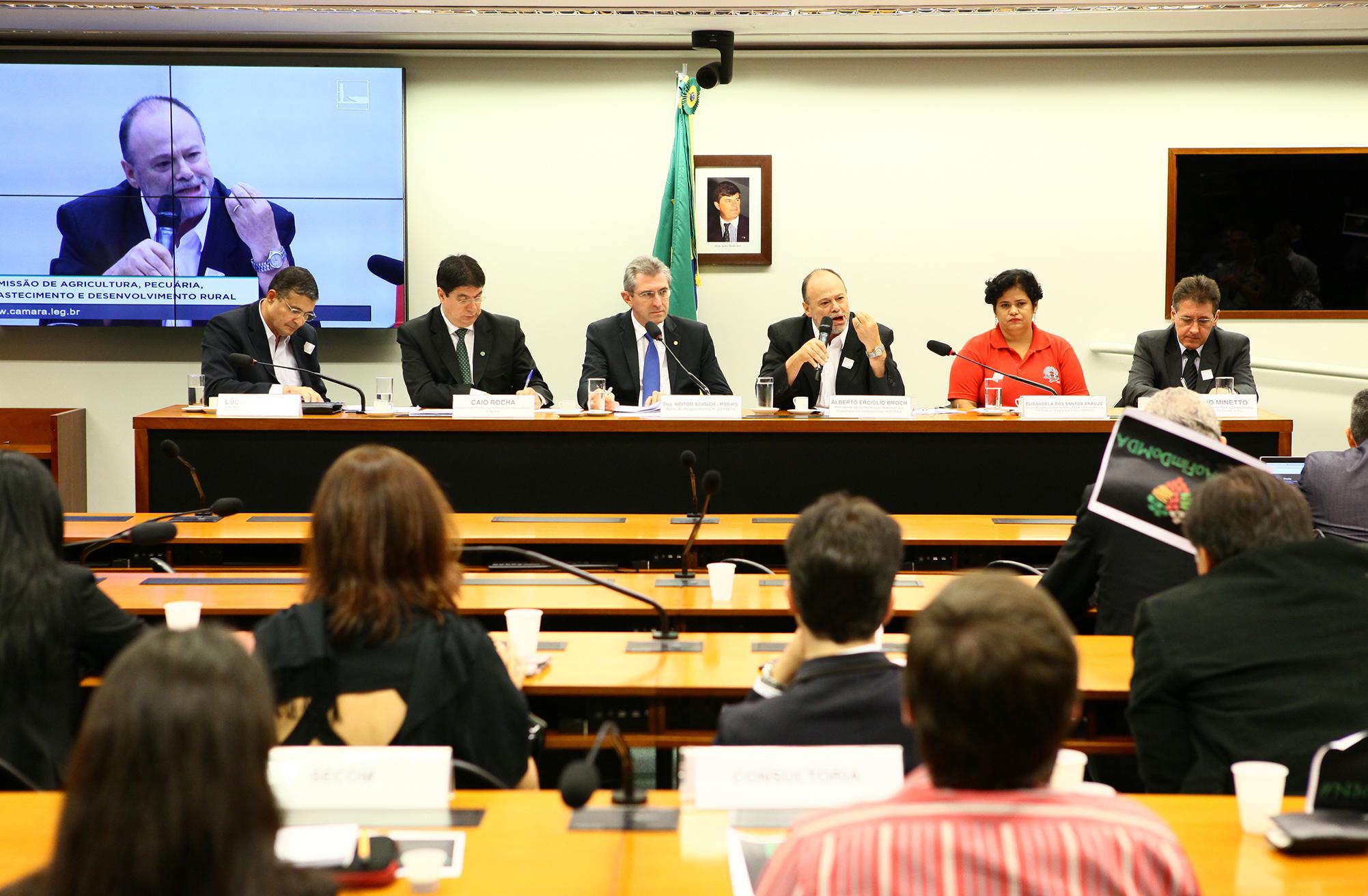 Audiência pública sobre a importância do Ministério do Desenvolvimento Agrário (MDA) na valorização da agricultura familiar