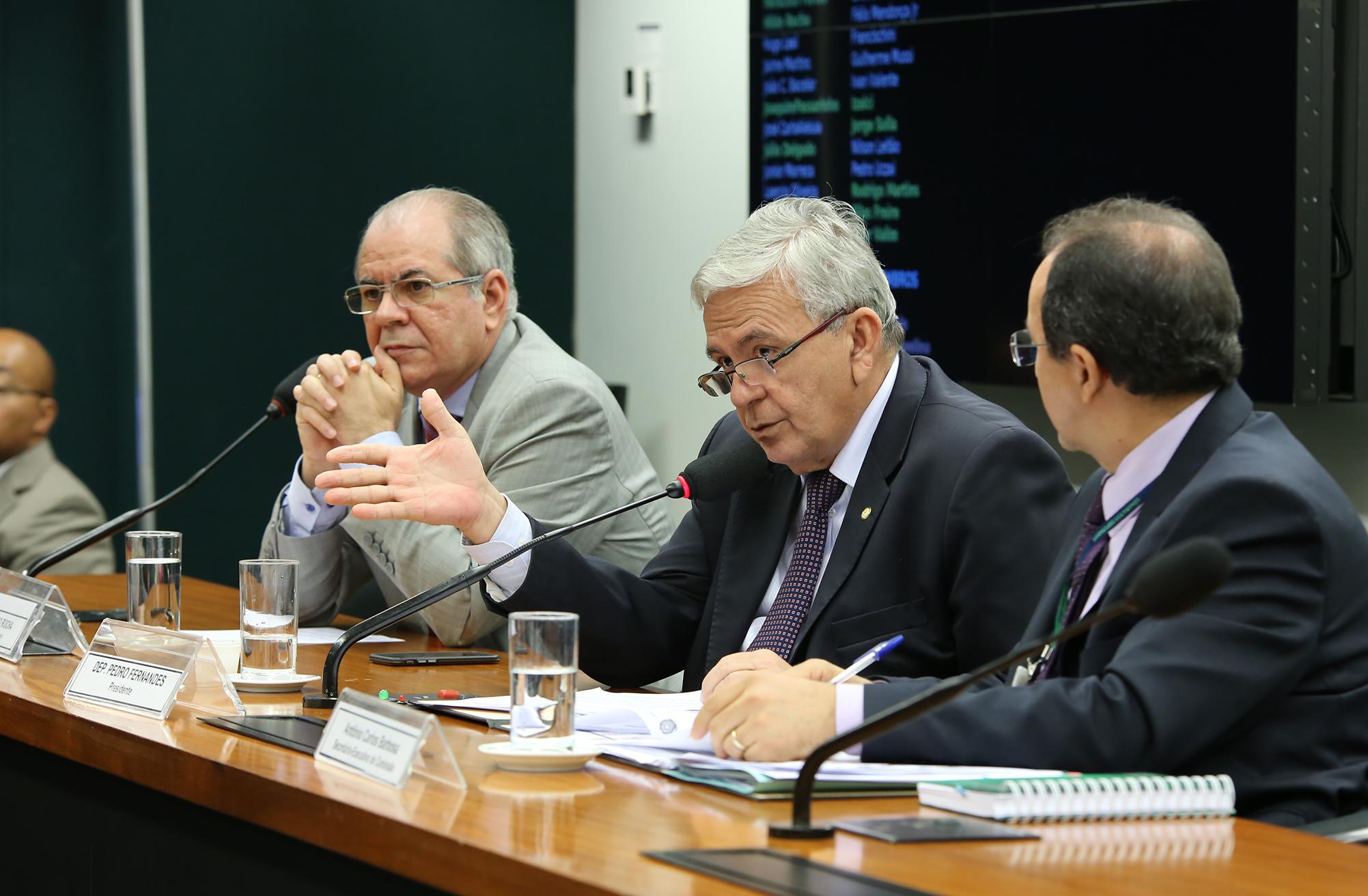 Audiência Pública e Reunião Ordinária. Dep. Pedro Fernandes (PTB-MA)