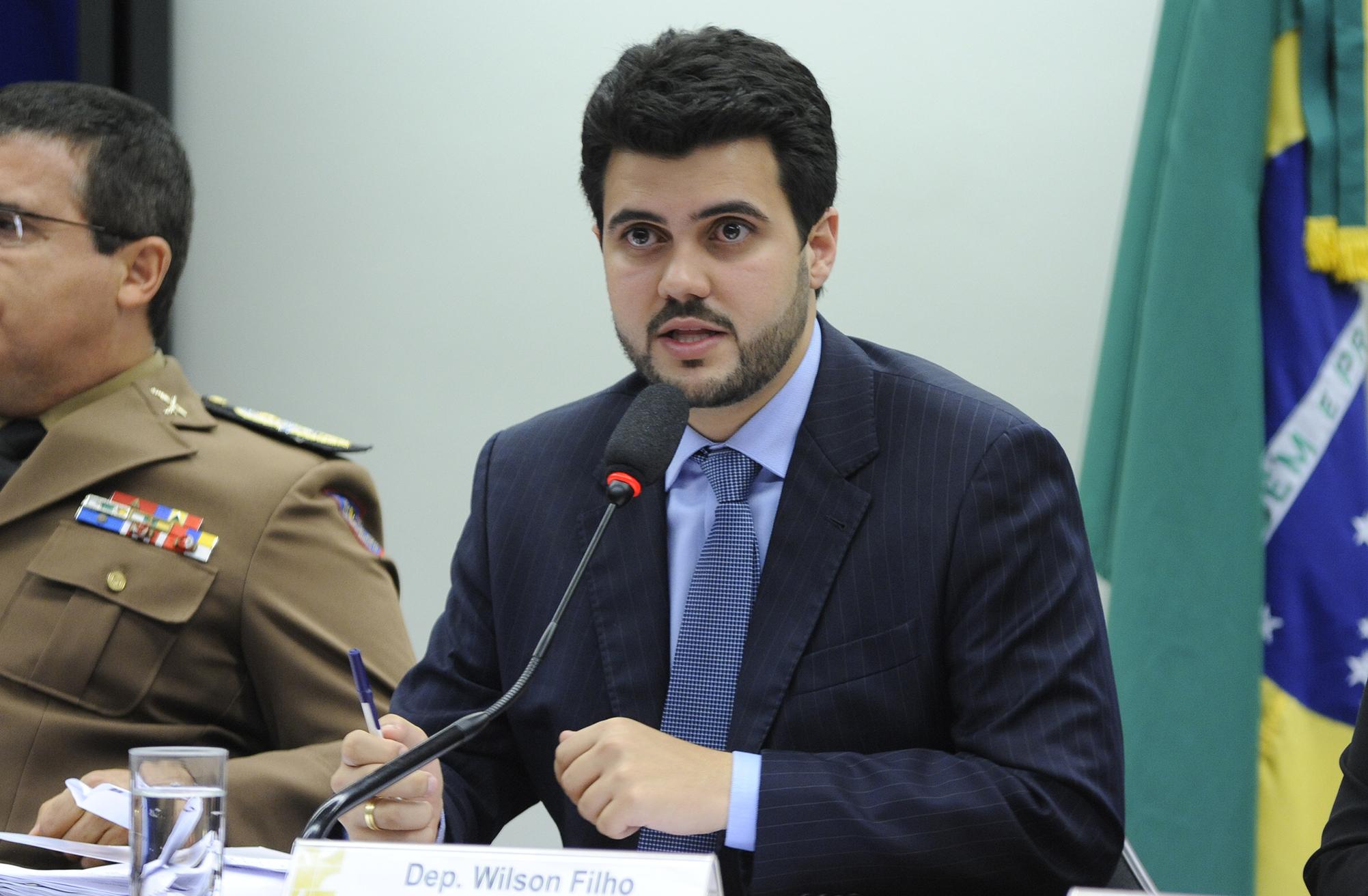 Audiência Pública e Reunião Ordinária. Dep. Wilson Filho (PMDB-PB)