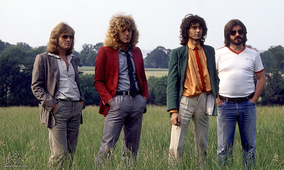 Led Zeppelin em 1979