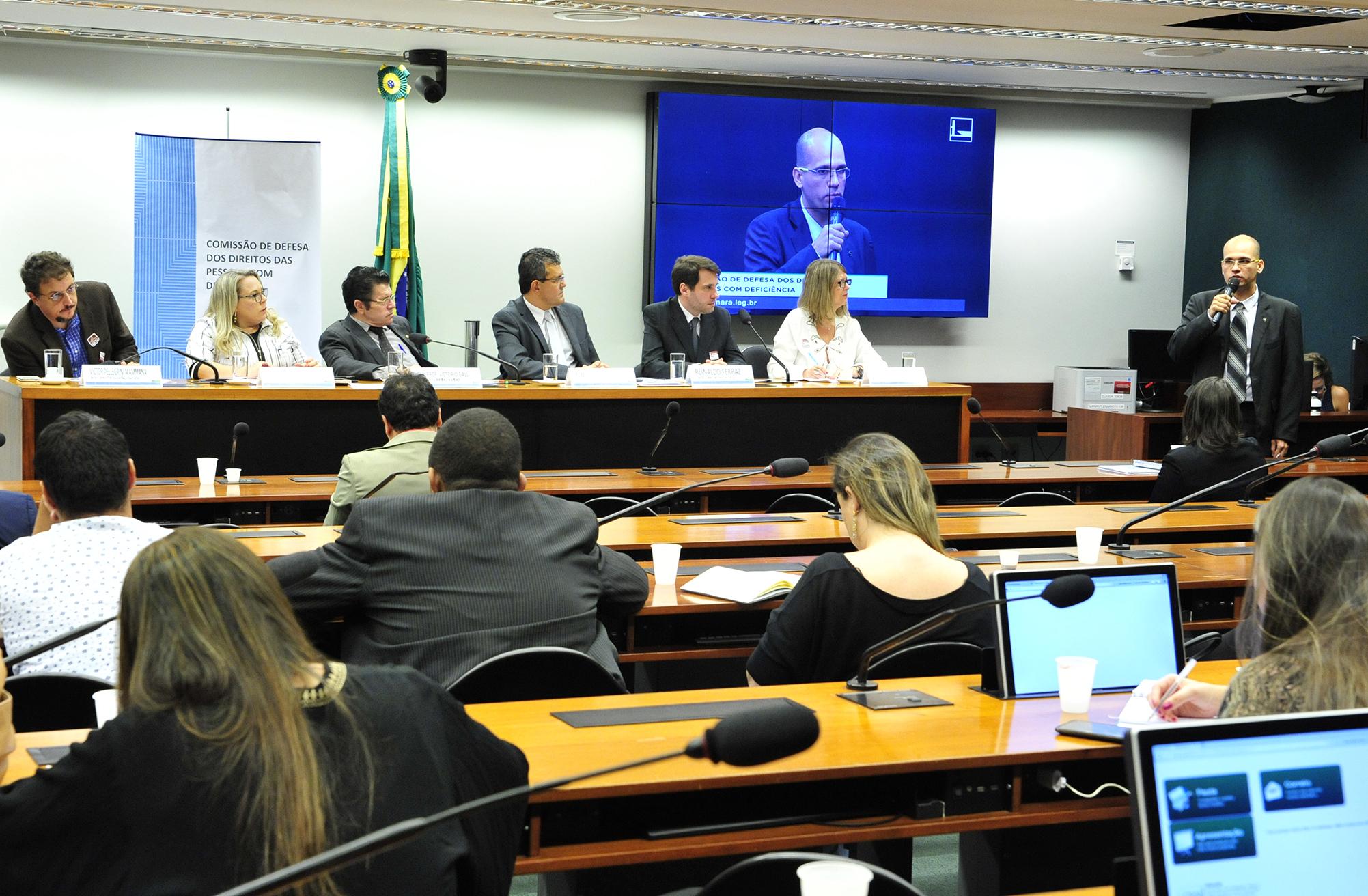 Audiência pública sobre a inclusão e o acesso de pessoas com deficiência na Internet