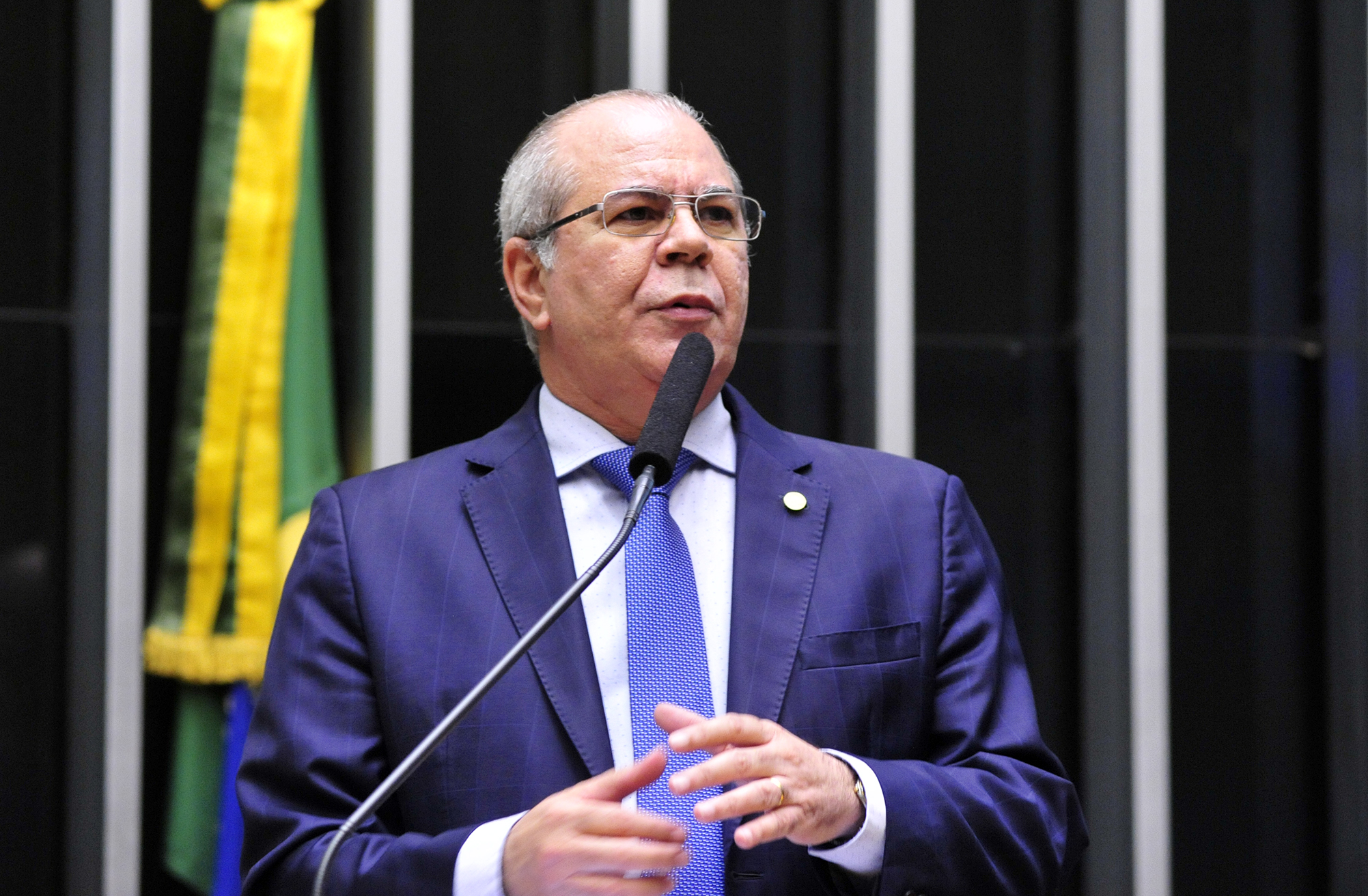 Sessão conjunta do Congresso Nacional para votar oito vetos presidenciais. Dep. Hildo Rocha (PMDB-MA)