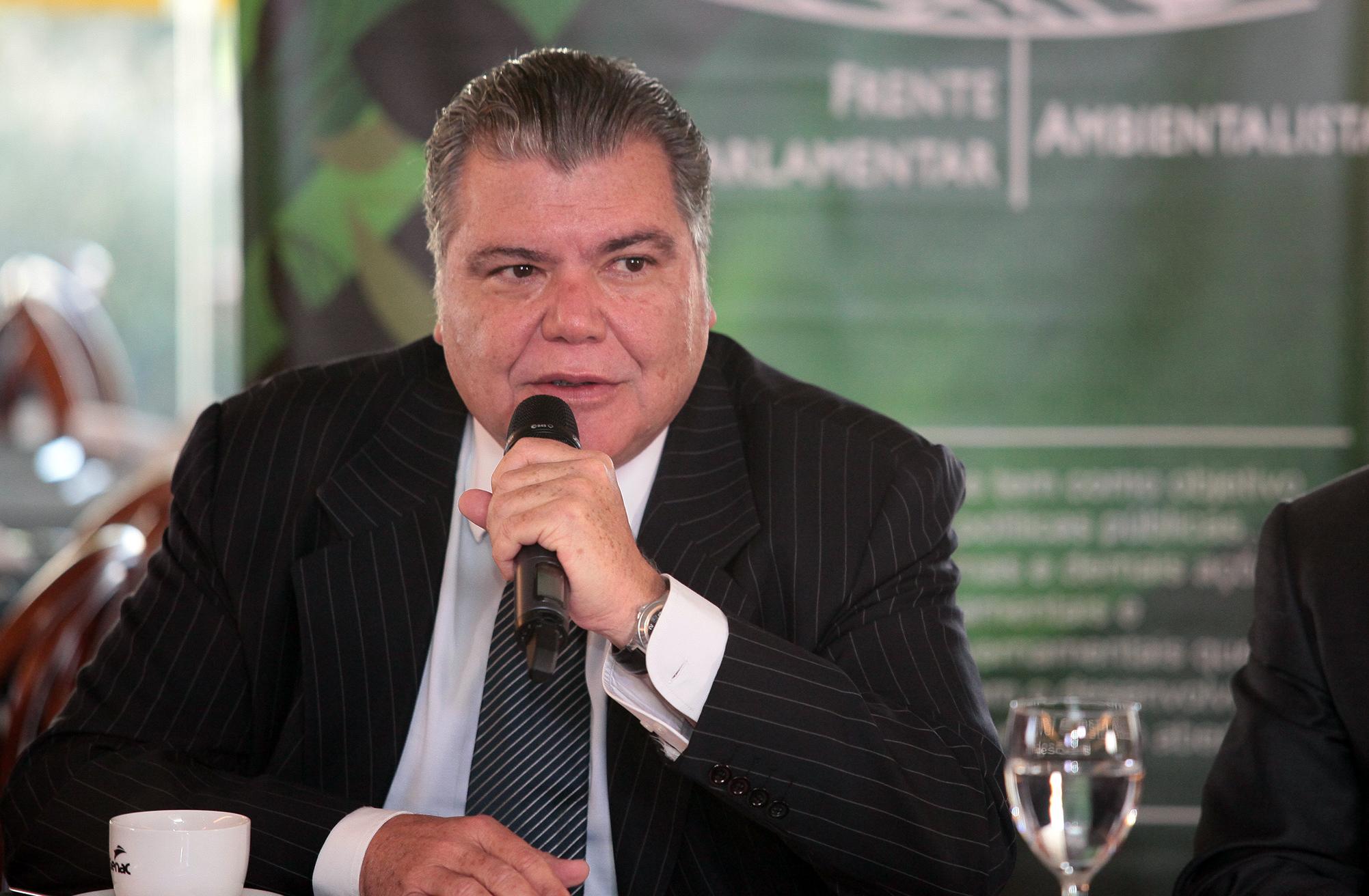 Reunião sobre a contribuição do setor empresarial para implementação do Acordo do Clima. Ministro do Meio Ambiente, José Sarney Filho