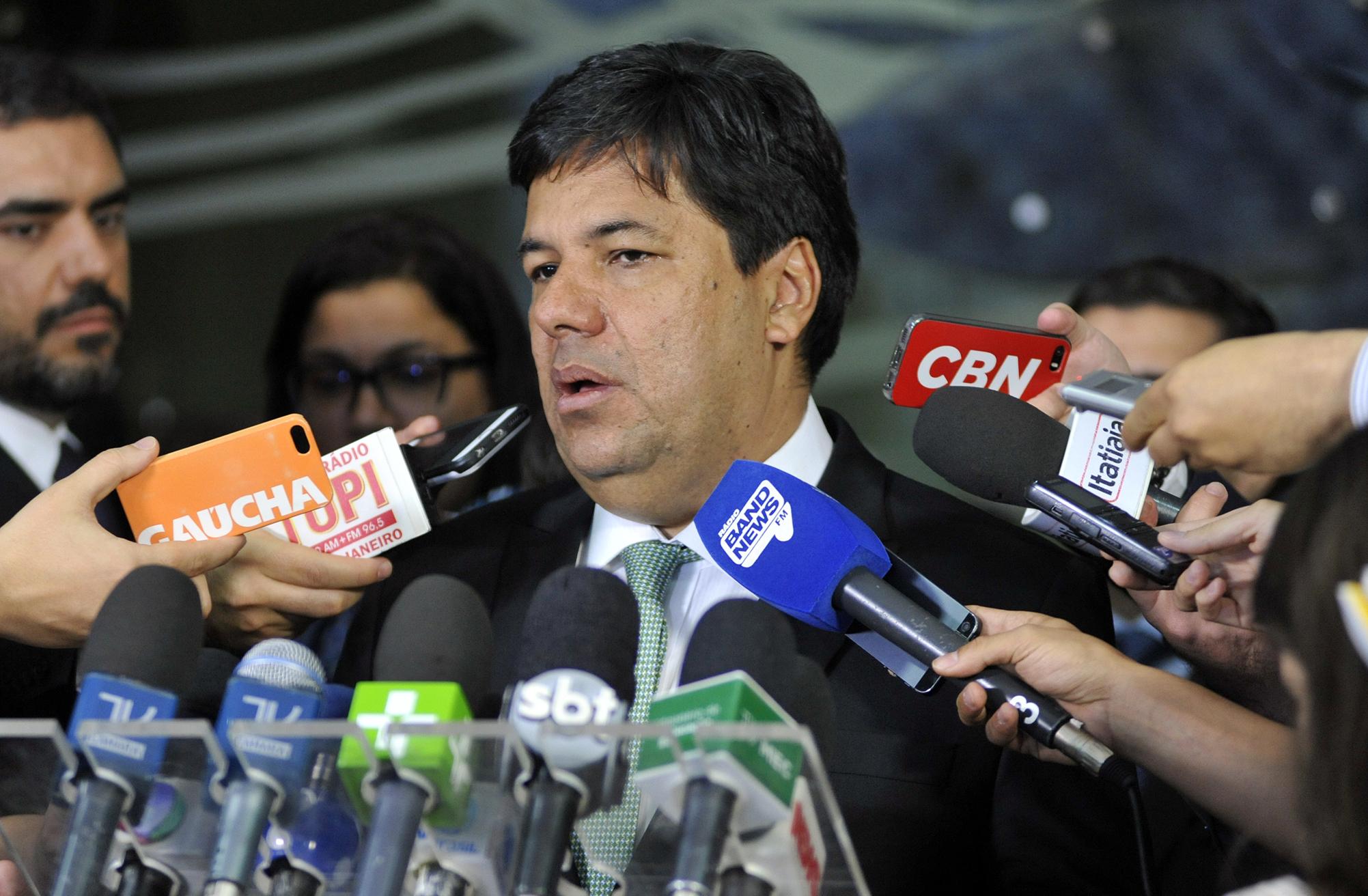 Ministro da Educação, Mendonça Filho concede entrevista