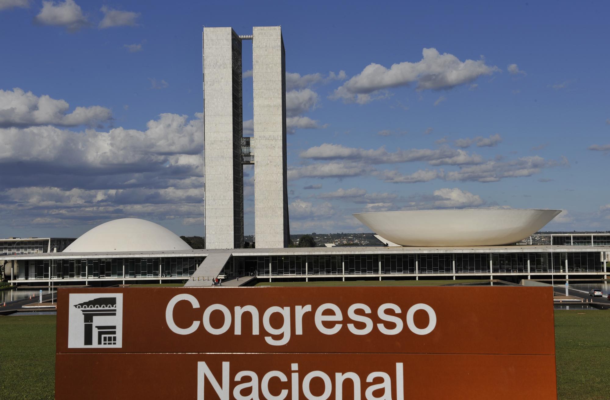 Brasília - Congresso - Congresso Nacional placa