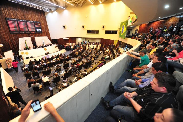 Audiência na Assembleia Legislativa do Paraná sobre medidas de combate à corrupção