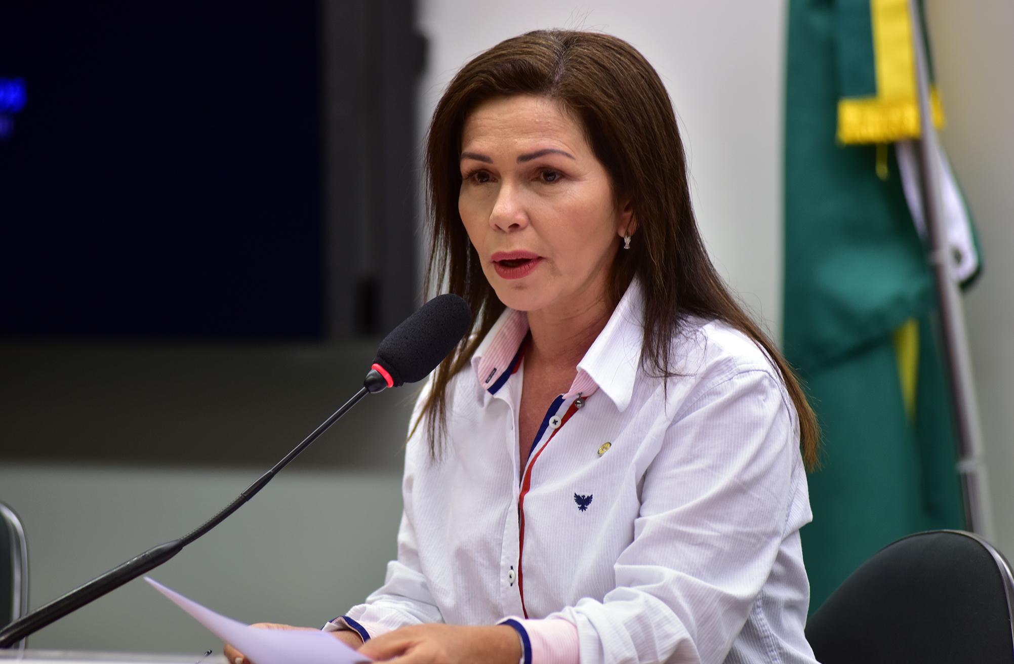 Audiência pública sobre a utilização de biotecnologia para o combate ao mosquito Aedes Aegypti. Dep. Conceição Sampaio (PP-AM)