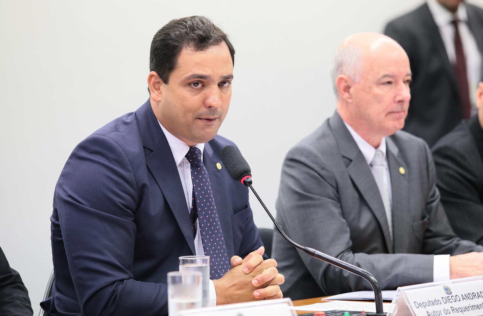 Reunião Ordinária e Audiência Pública. Dep. Diego Andrade (PSD-MG)