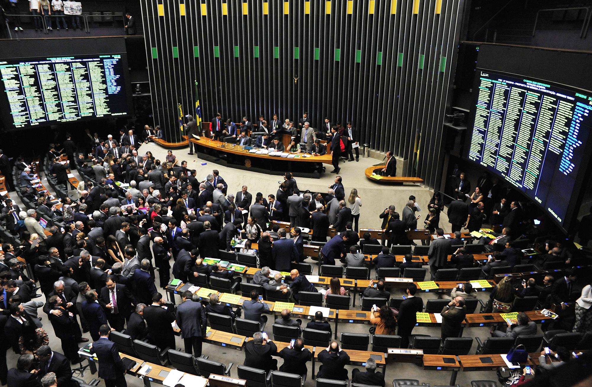 Sessão extraordinária para discussão e votação em segundo turno da PEC 241/2016