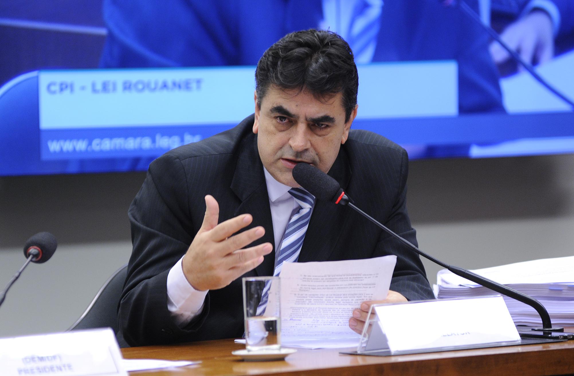 Audiência pública para esclarecimentos sobre fatos relacionados ao objeto de investigação da CPI. Dep. Domingos Sávio (PSDB-MG)