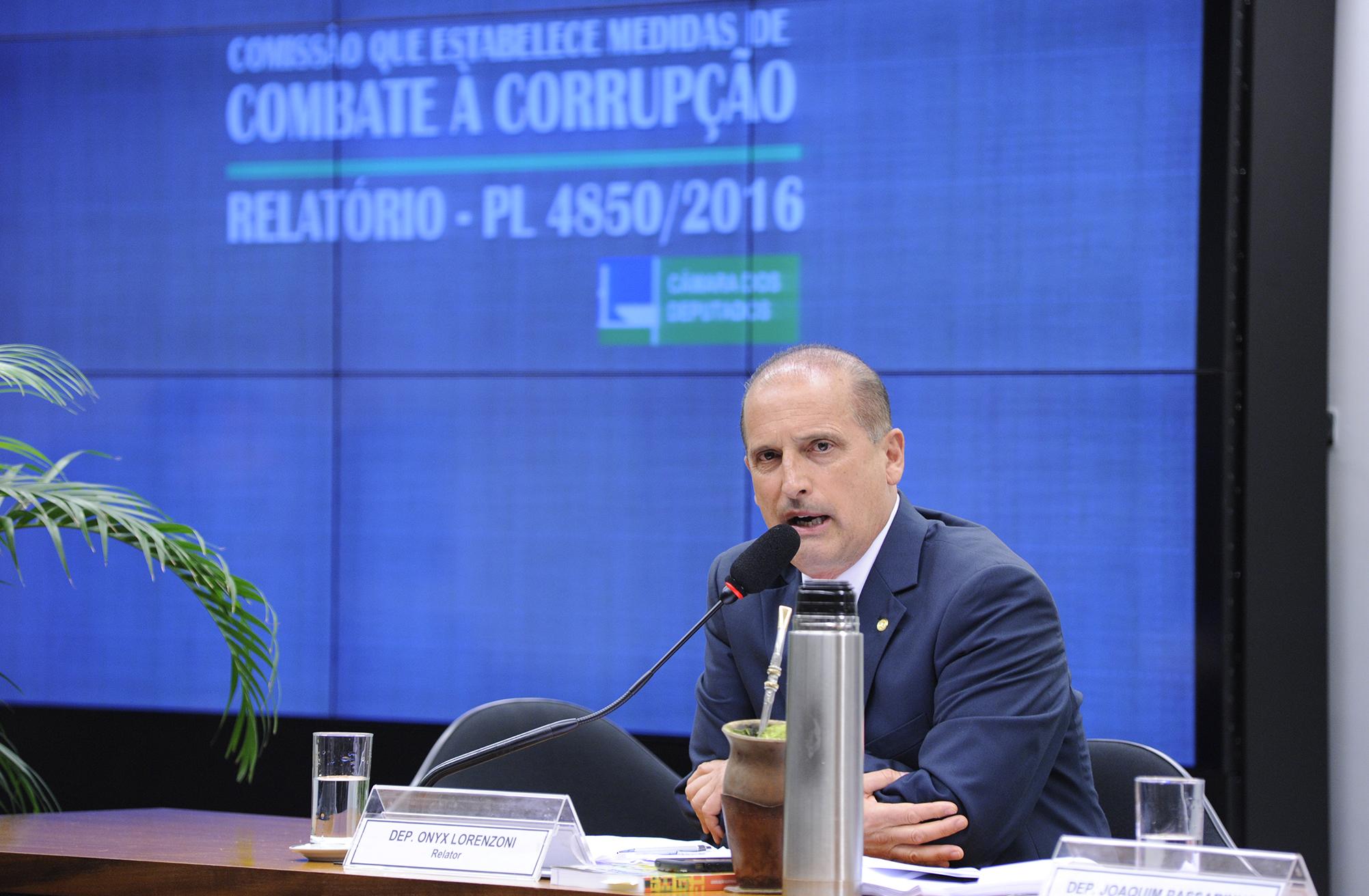 Reunião Ordinária. Dep. Onyx Lorenzoni (DEM-RS)