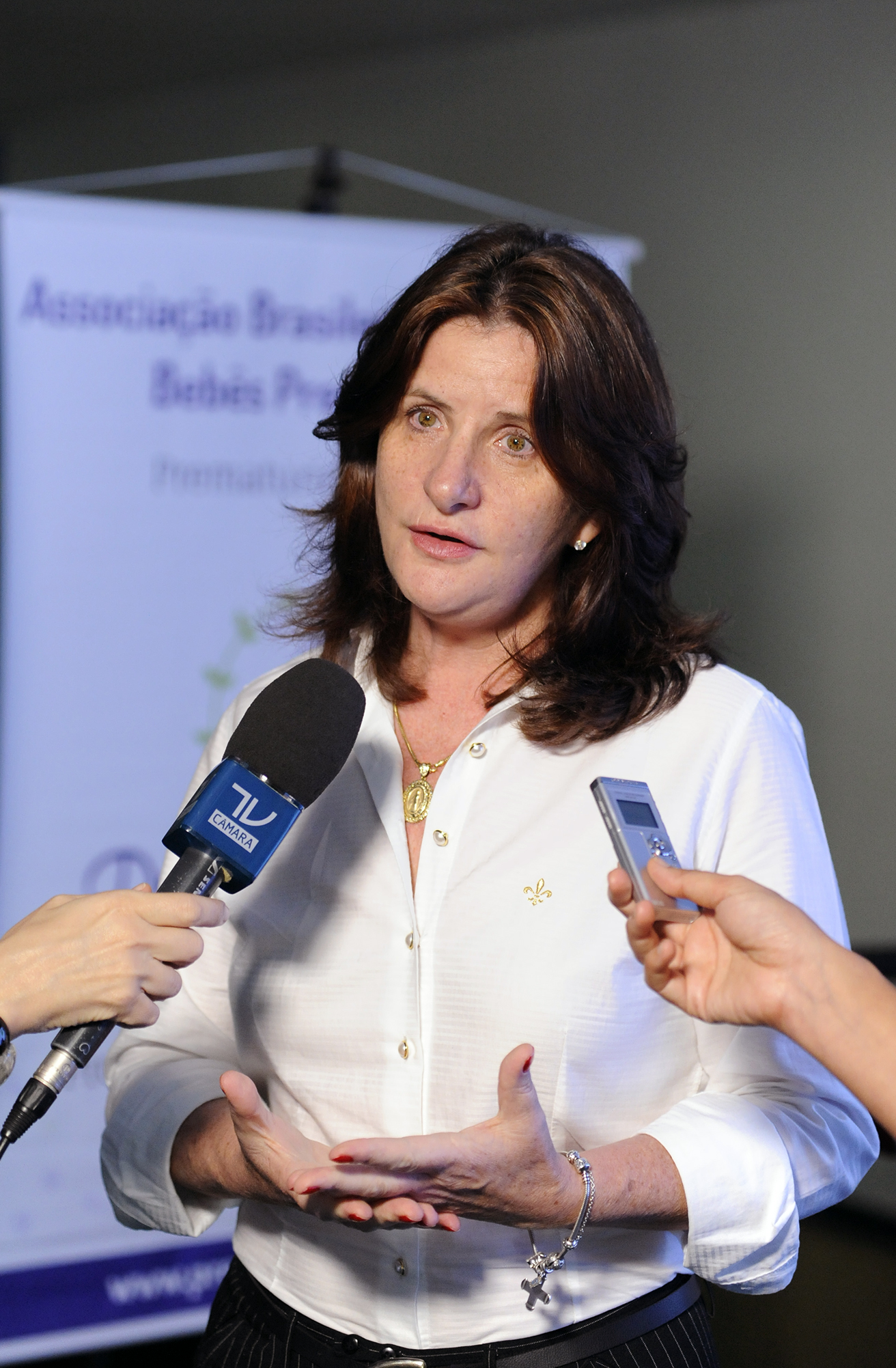 Lançamento da Campanha Dia Mundial da Prematuridade. Dep. Carmen Zanotto (PPS/SC)