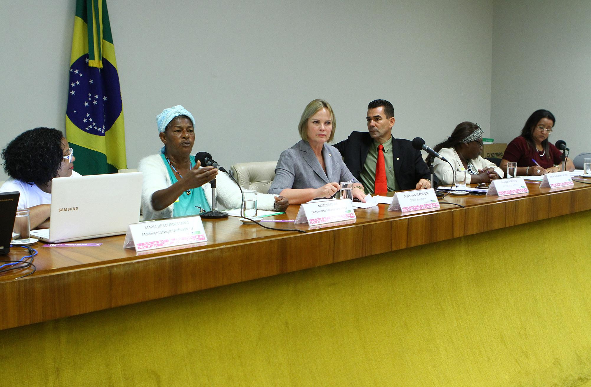 """Audiência pública das comissões de Defesa dos Direitos da Mulher (CMULHER) e de Direitos Humanos e Minorias (CDHM) junto a Frente Parlamentar em Defesa dos Direitos Humanos das Mulheres e a Secretaria da Mulher para debater o """"caso Gracinha"""""""