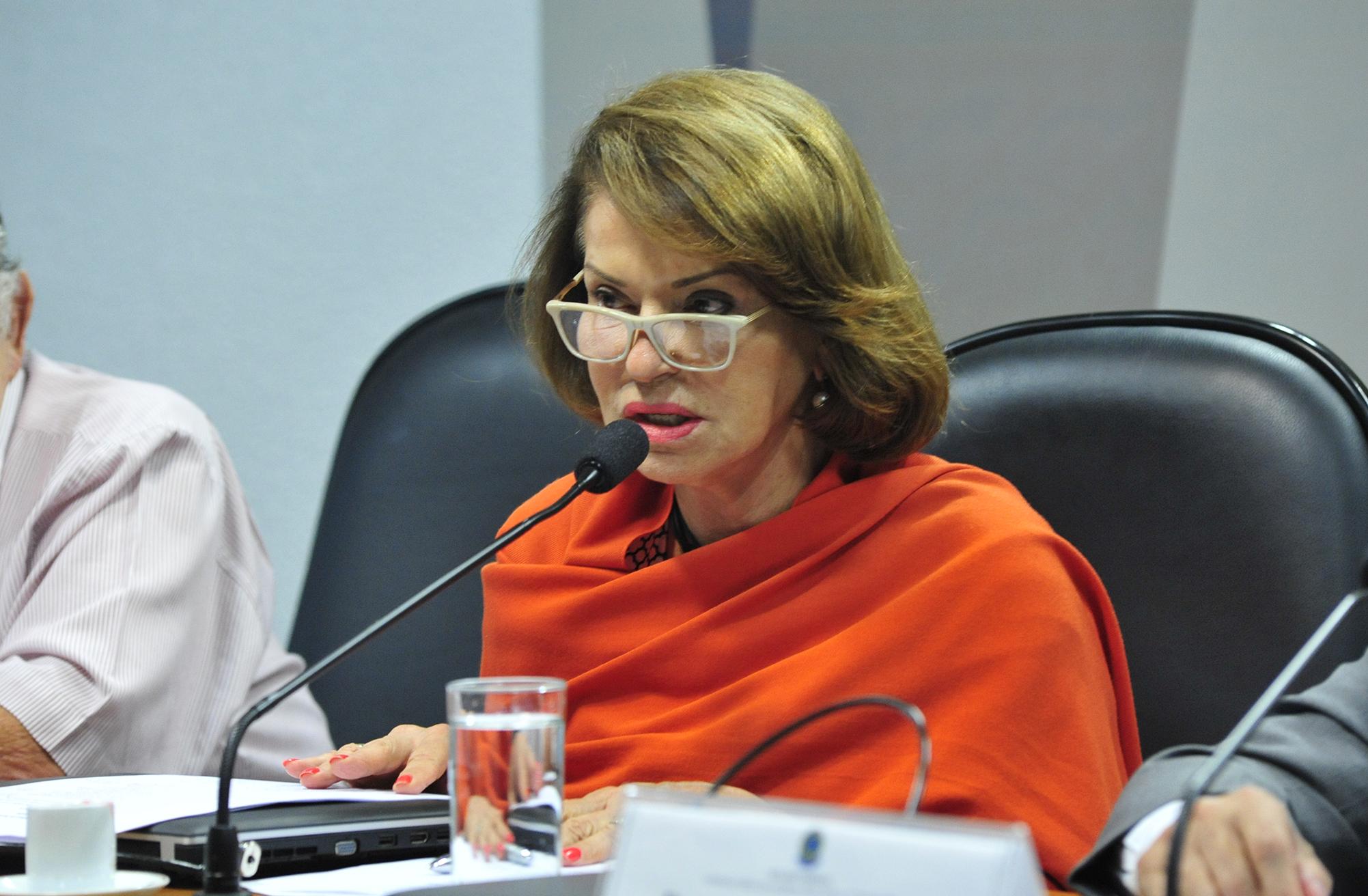 Audiência pública (interativa) da Comissão Mista sobre a MP 746/16, que reforma o currículo do ensino médio. Secretária-executiva do Ministério da Educação, Maria Helena de Castro