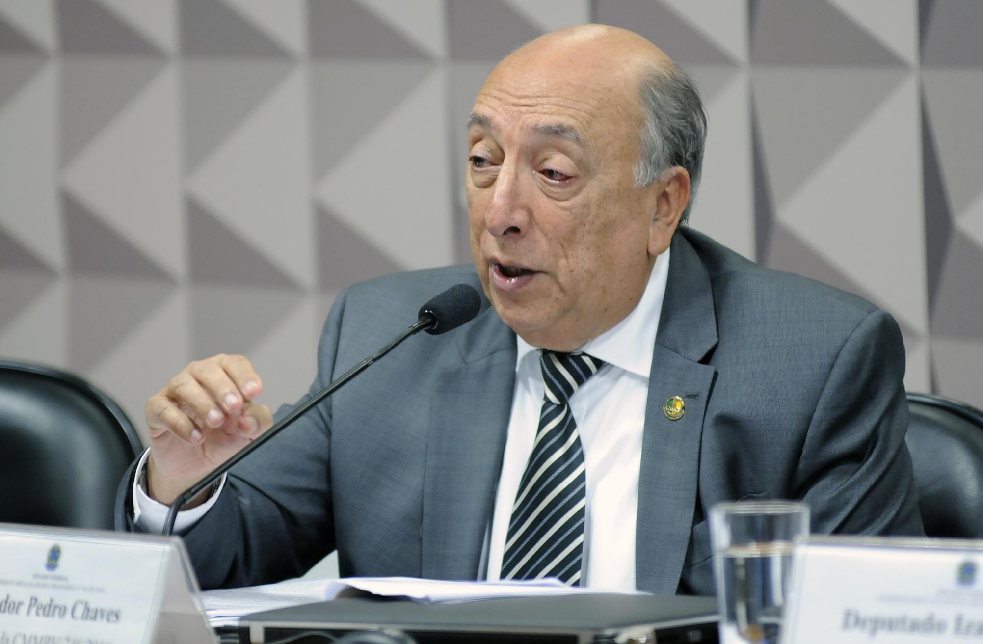 Comissão Mista sobre a MP 746/16, que analisa a reforma no ensino médio. Sen. Pedro Chaves (PSC-MS)