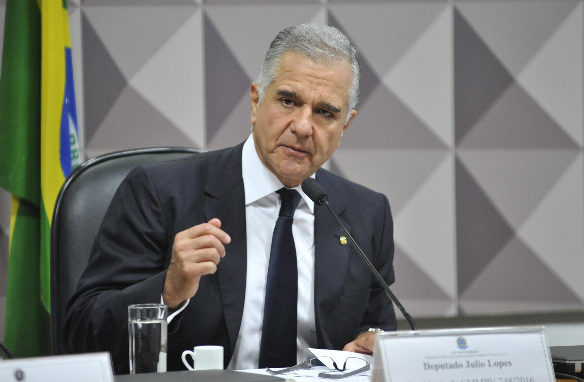 Audiência pública (interativa) da Comissão Mista sobre a MP 748/16, que institui as Diretrizes da Política Nacional de Mobilidade Urbana. Dep. Júlio Lopes (PP-RJ)