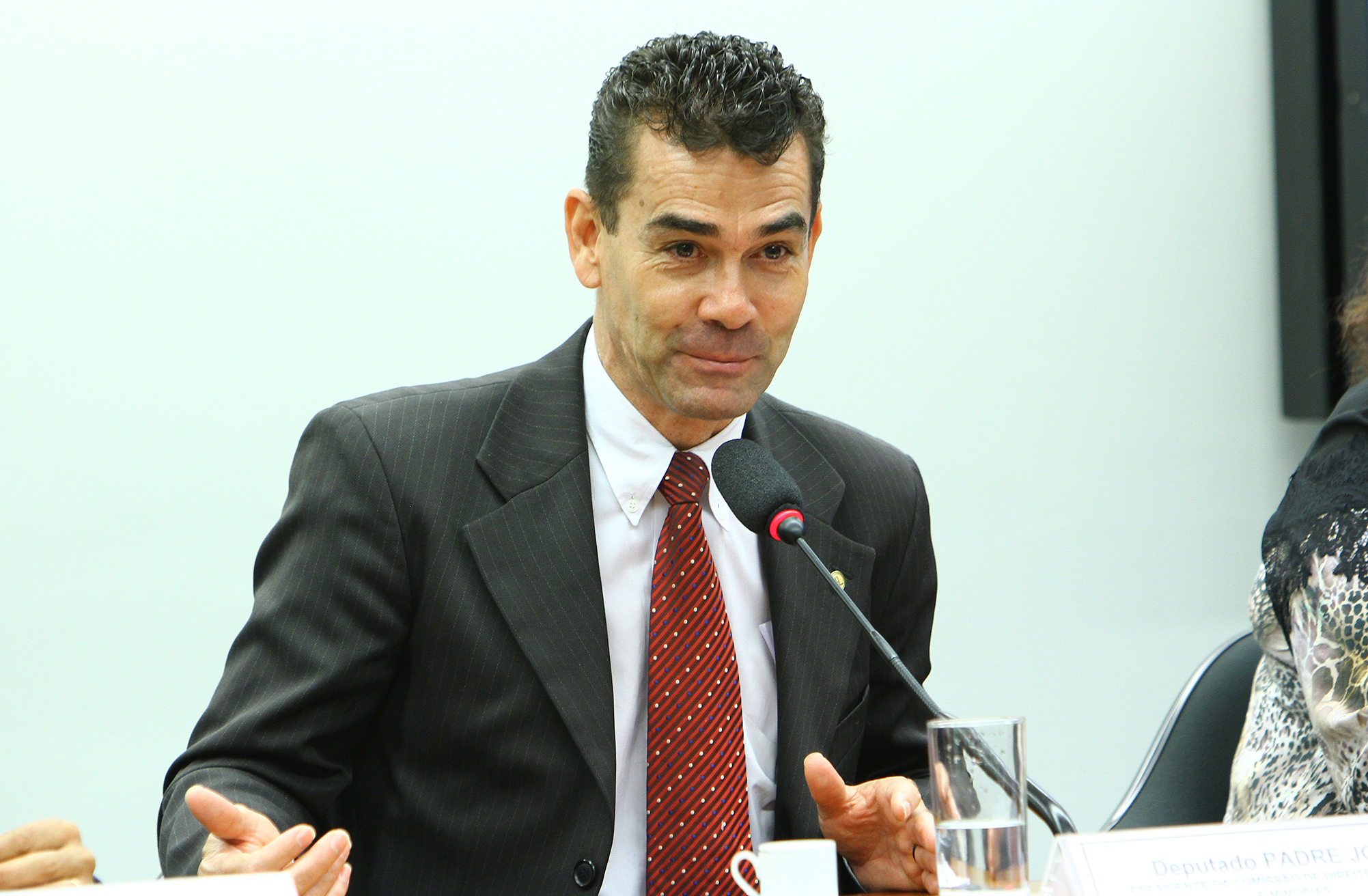 Seminário sobre Direito Humano à Alimentação. Presidente da CDHM, dep. padre João (PT-MG)