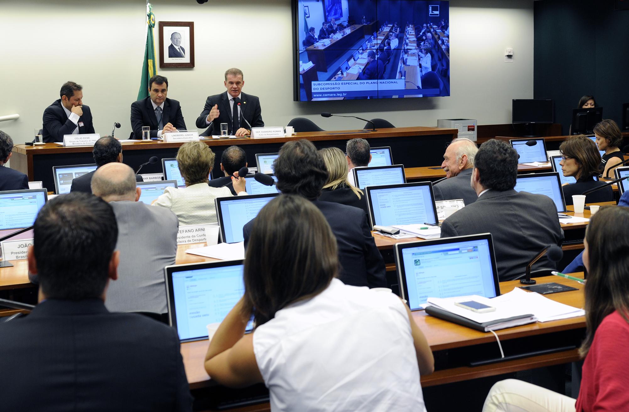 Subcomissão Especial do Plano Nacional do Desporto  Mesa Redonda: A terceira etapa da proposta do Plano Nacional do Desporto