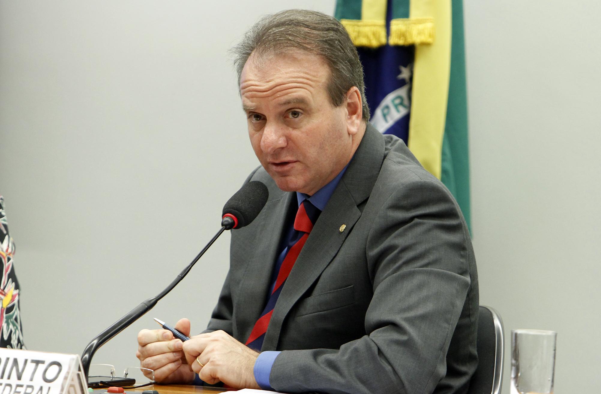 Audiência pública sobre indenização às transmissoras de energia elétrica. Dep. Bilac Pinto (PR-MG)