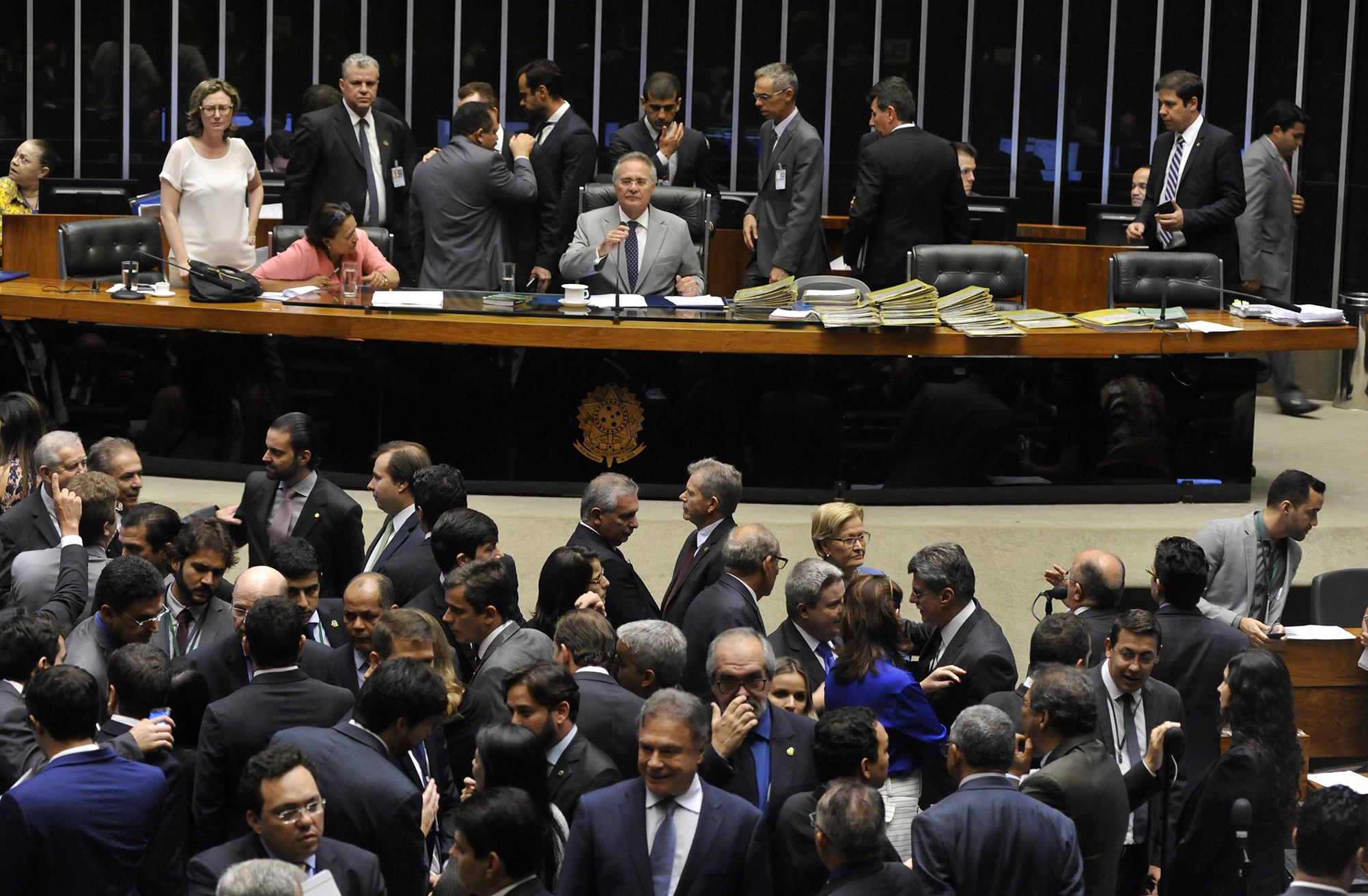 Sessão do Congresso Nacional para análise e votação de vetos presidenciais