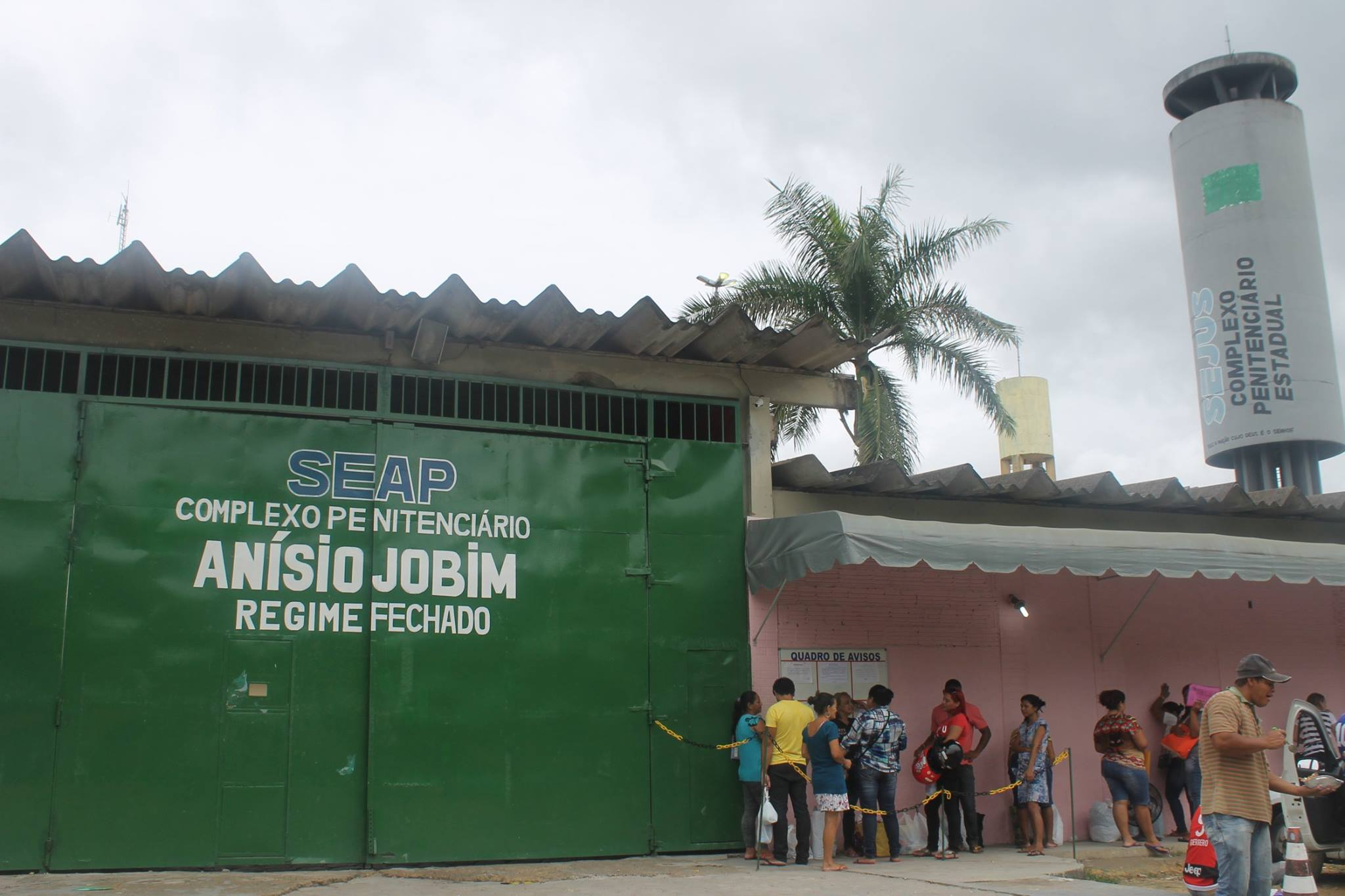 Segurança - presídio - Complexo Penitenciário Anísio Jobim Manaus Amazonas presos