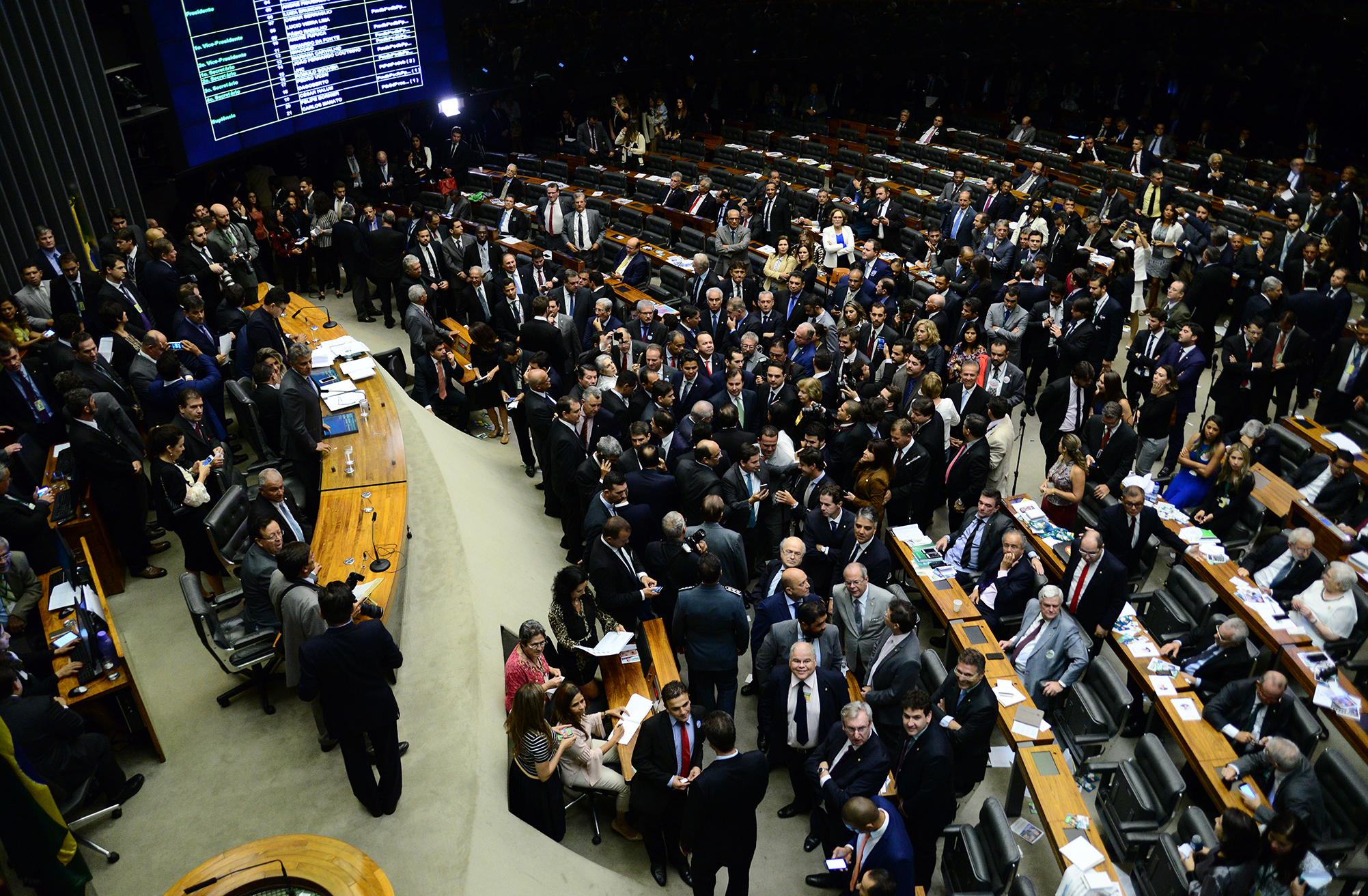Sessão preparatória para eleição da Mesa Diretora. Dep. Rodrigo Maia (DEM-RJ) é reeleito presidente da Câmara
