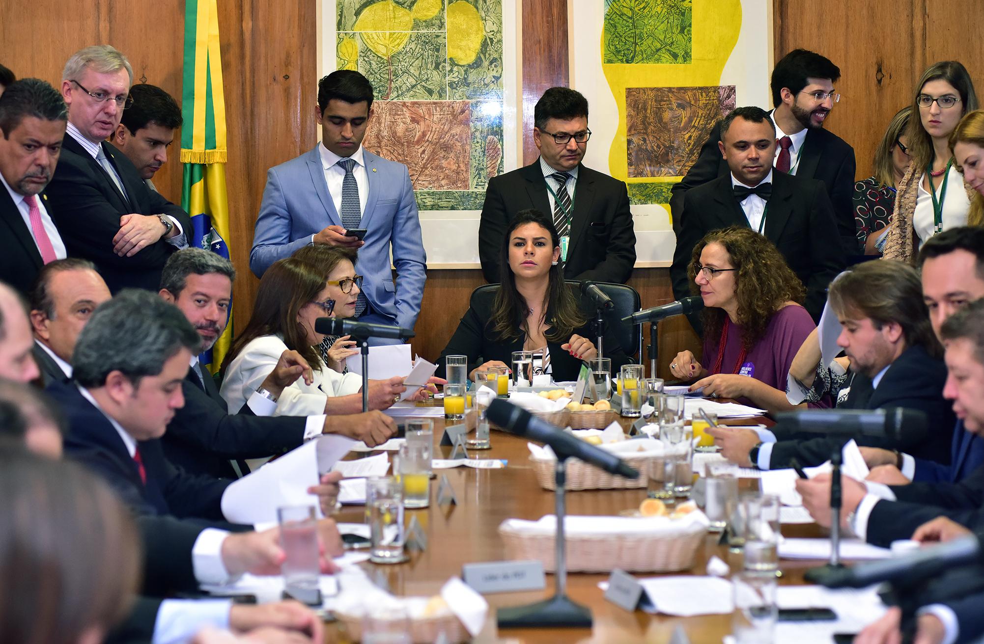 Dep. Mariana Carvalho (PSDB-RO) conduz Reunião de líderes