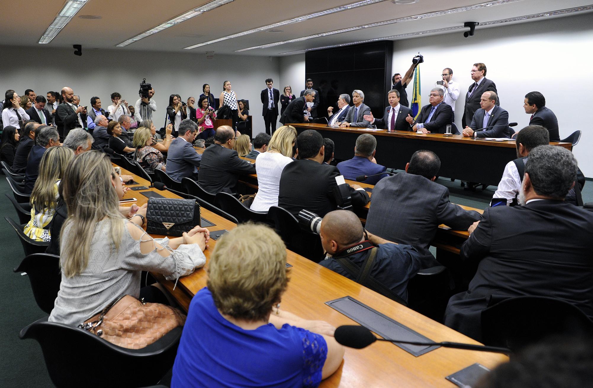 Reunião para entrega de carta aberta da OAB sobre a reforma
