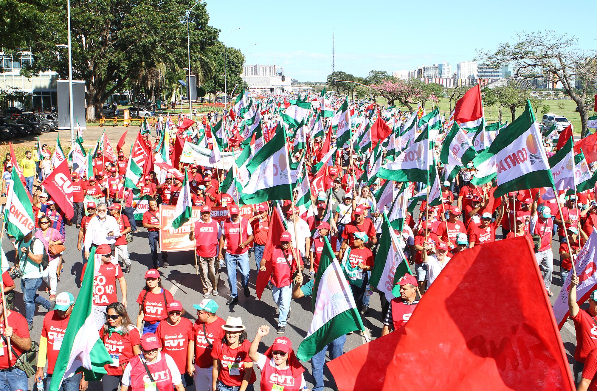 Dia Nacional de Lutas com Greves e Paralisações contra a