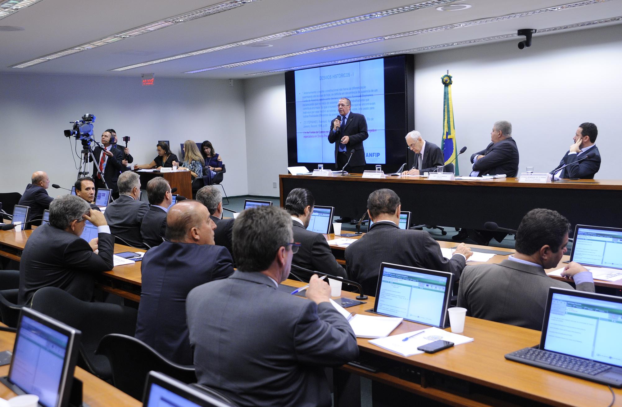 Audiência pública para debater o equilíbrio financeiro e atuarial da Previdência