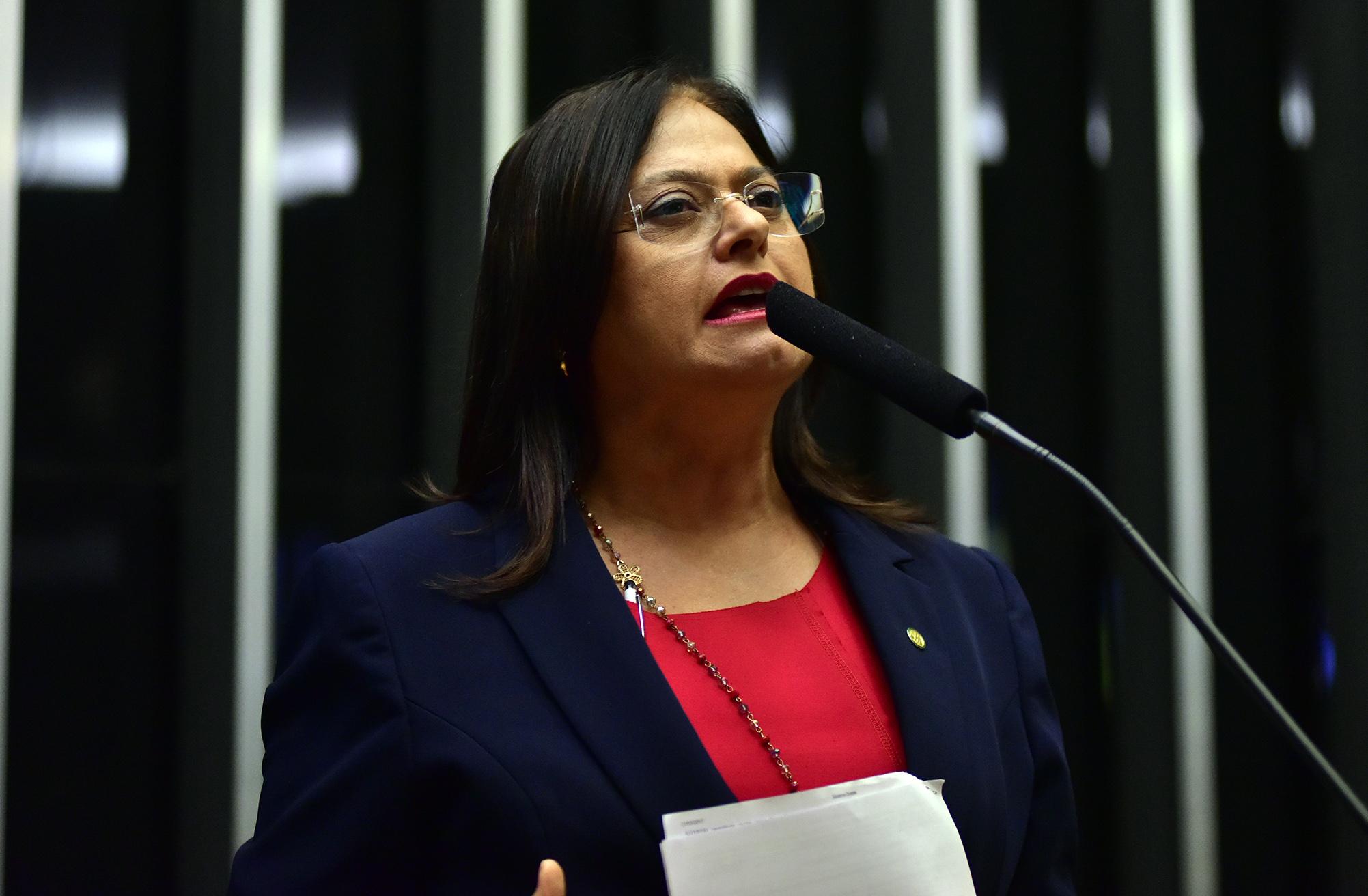 Sessão extraordinária da Câmara dos Deputados para discussão e votação de diversos projetos. Dep. Alice Portugal (PCdoB-BA)