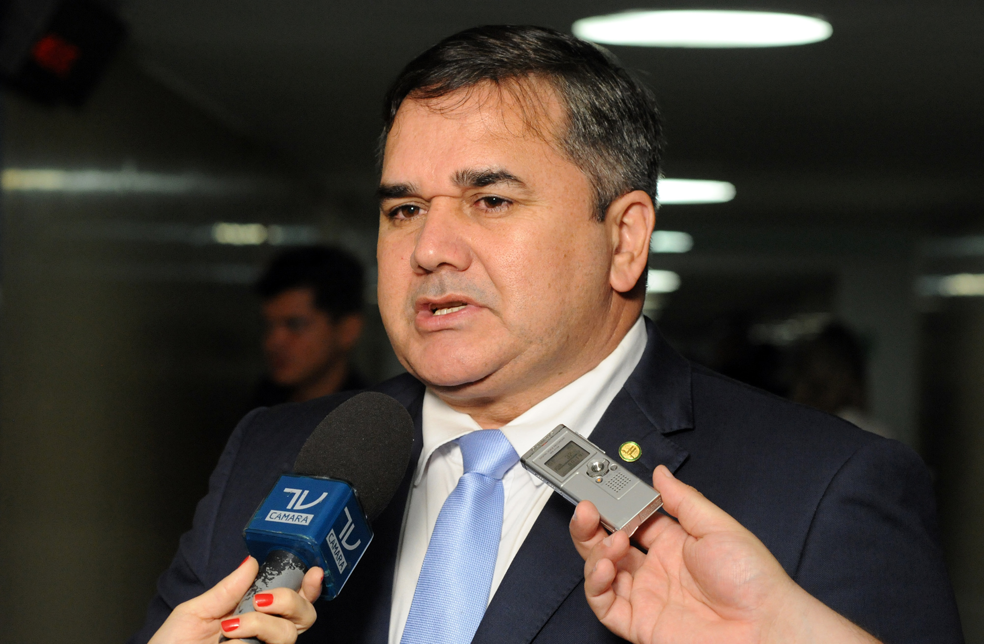 Dep. cabo Sabino (PR-CE) concede entrevista