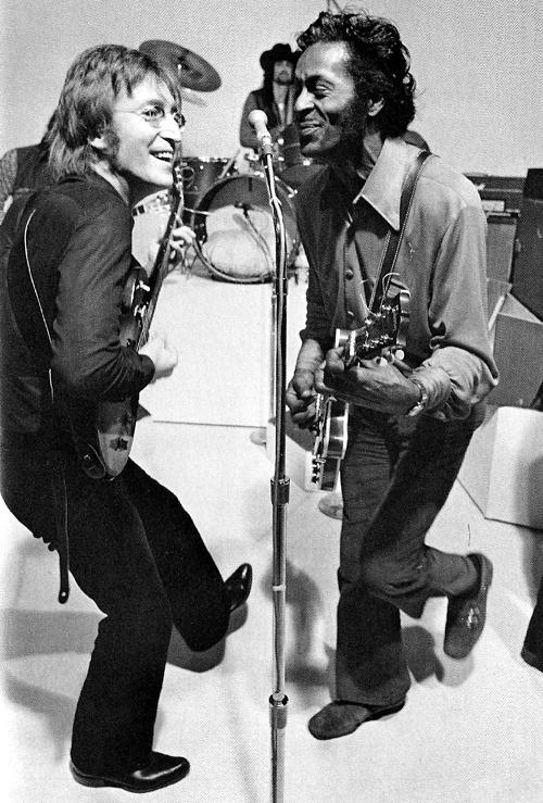 John Lennon e Chuck Berry 1