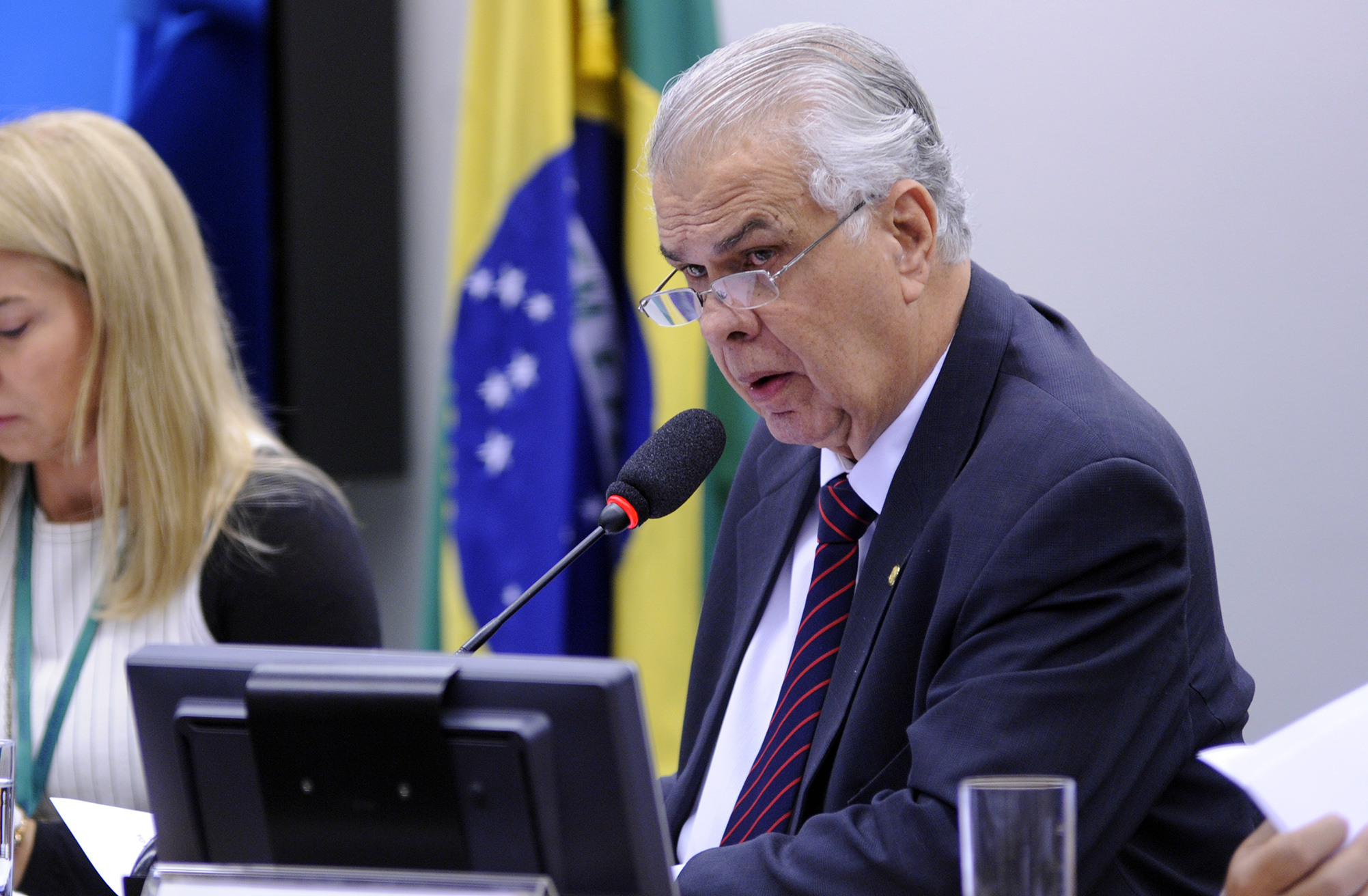 Reunião Ordinária. Presidente do Conselho de Ética, dep. José Carlos Araújo (PR-BA)