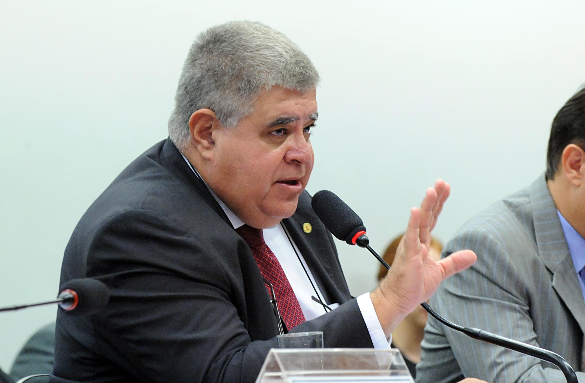 Reunião ordinária com o ministro da Fazenda, Henrique Meirelles. Dep. Carlos Marun (PMDB-MS)