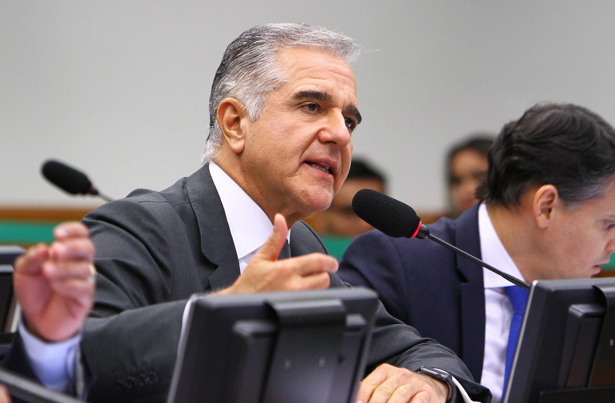 Reunião ordinária com o ministro da Fazenda, Henrique Meirelles. Dep. Júlio Lopes (PP-RJ)