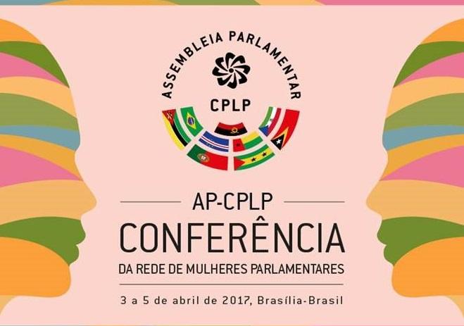 Banner - Conferencia da rede de mulheres parlamentares 3 a 5 de abril