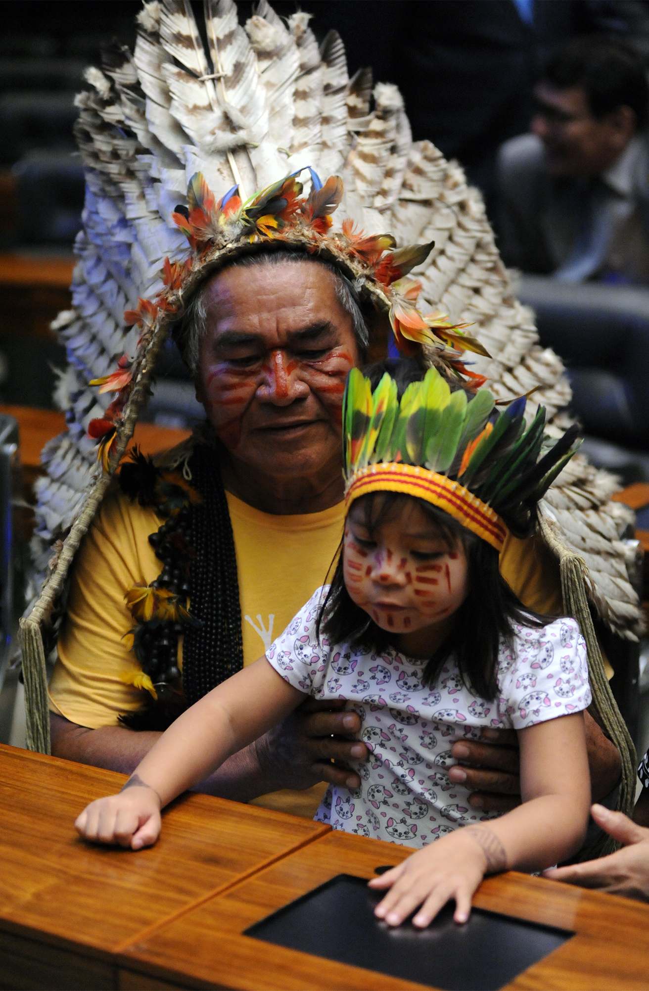Homenagem aos cinquenta anos da Fundação Nacional do Índio – Funai e ao Dia do Índio